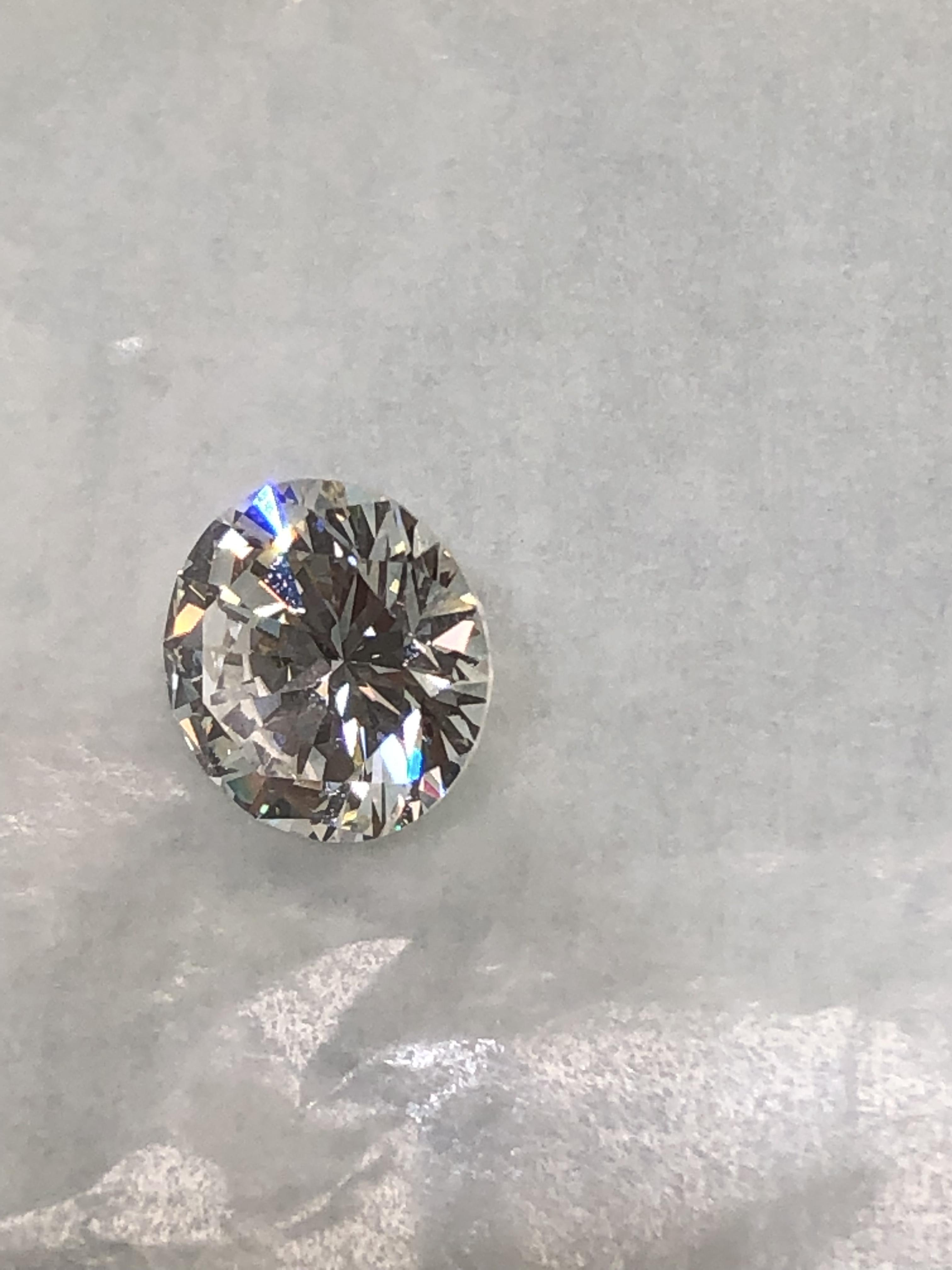 4.14 carats, J in