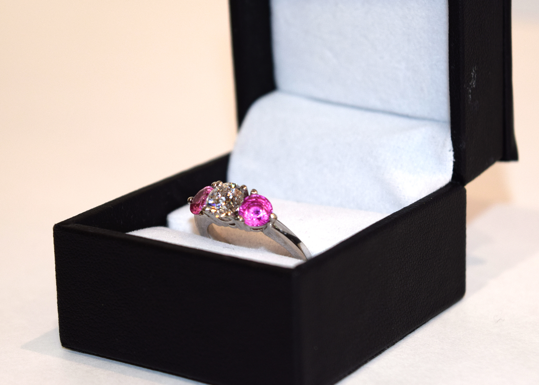 Exquisite Diamond and Pink