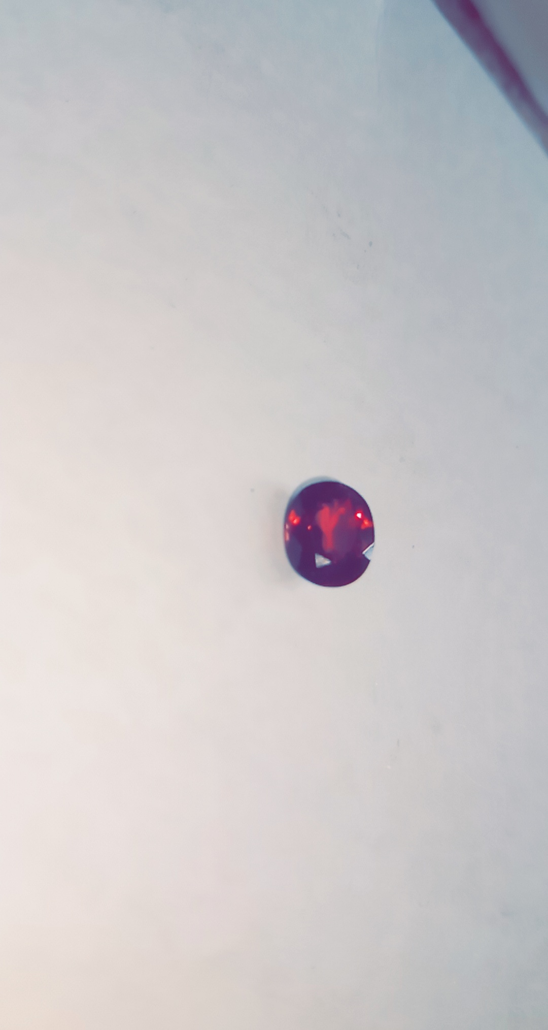 Natural Oval Shaped Ruby