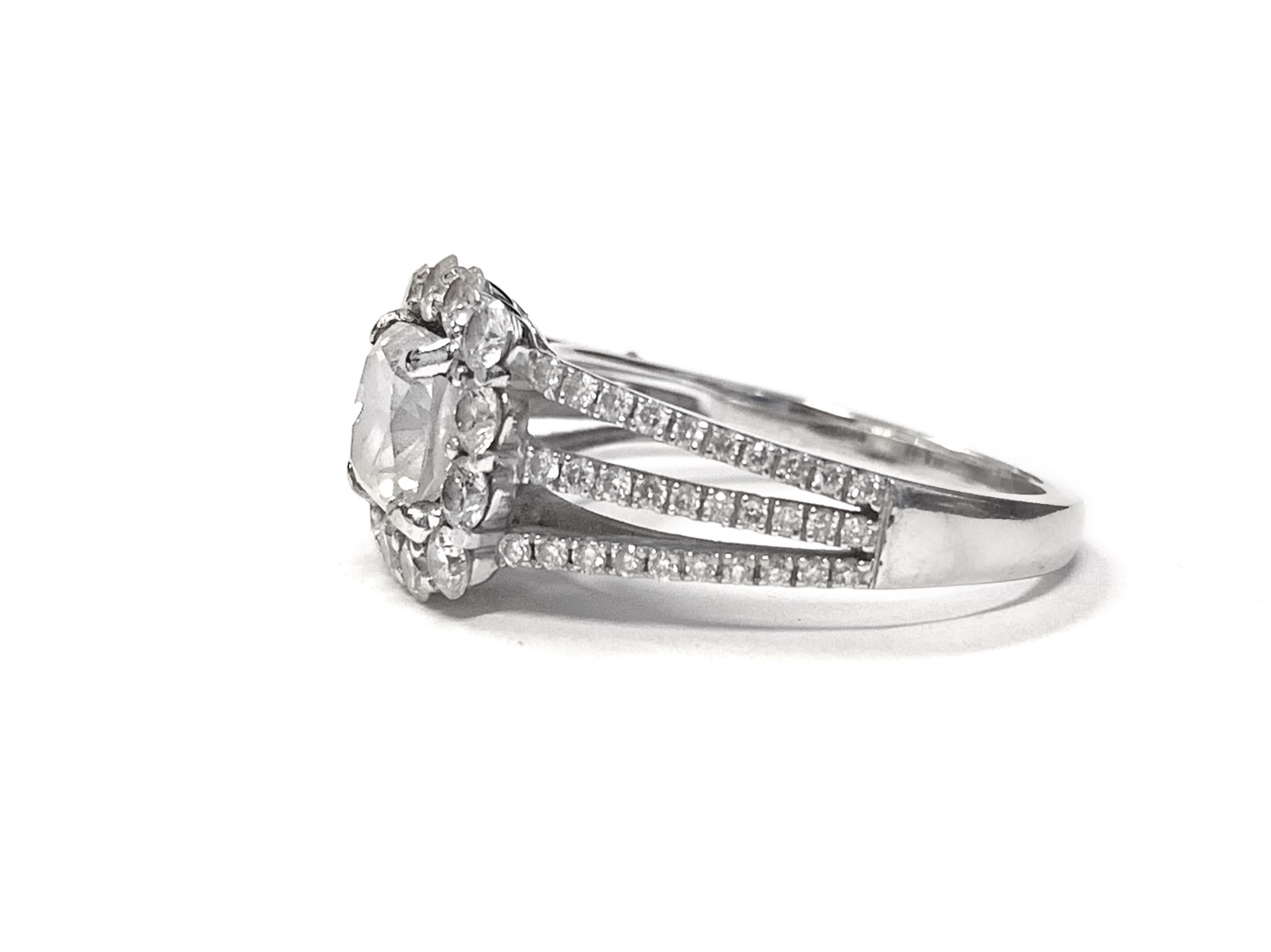 1.08ct Cushion Cut Diamond