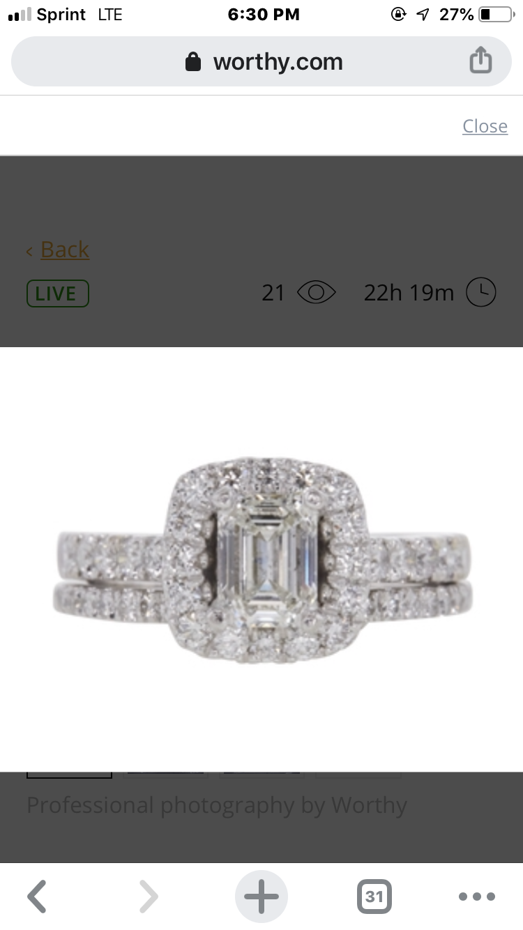 Jared Emerald cut Halo