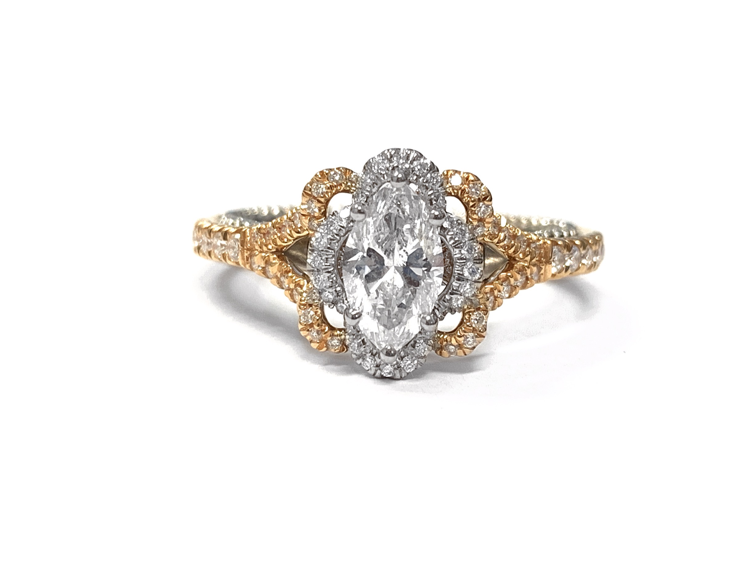 Verragio Marquise Diamond Engagement