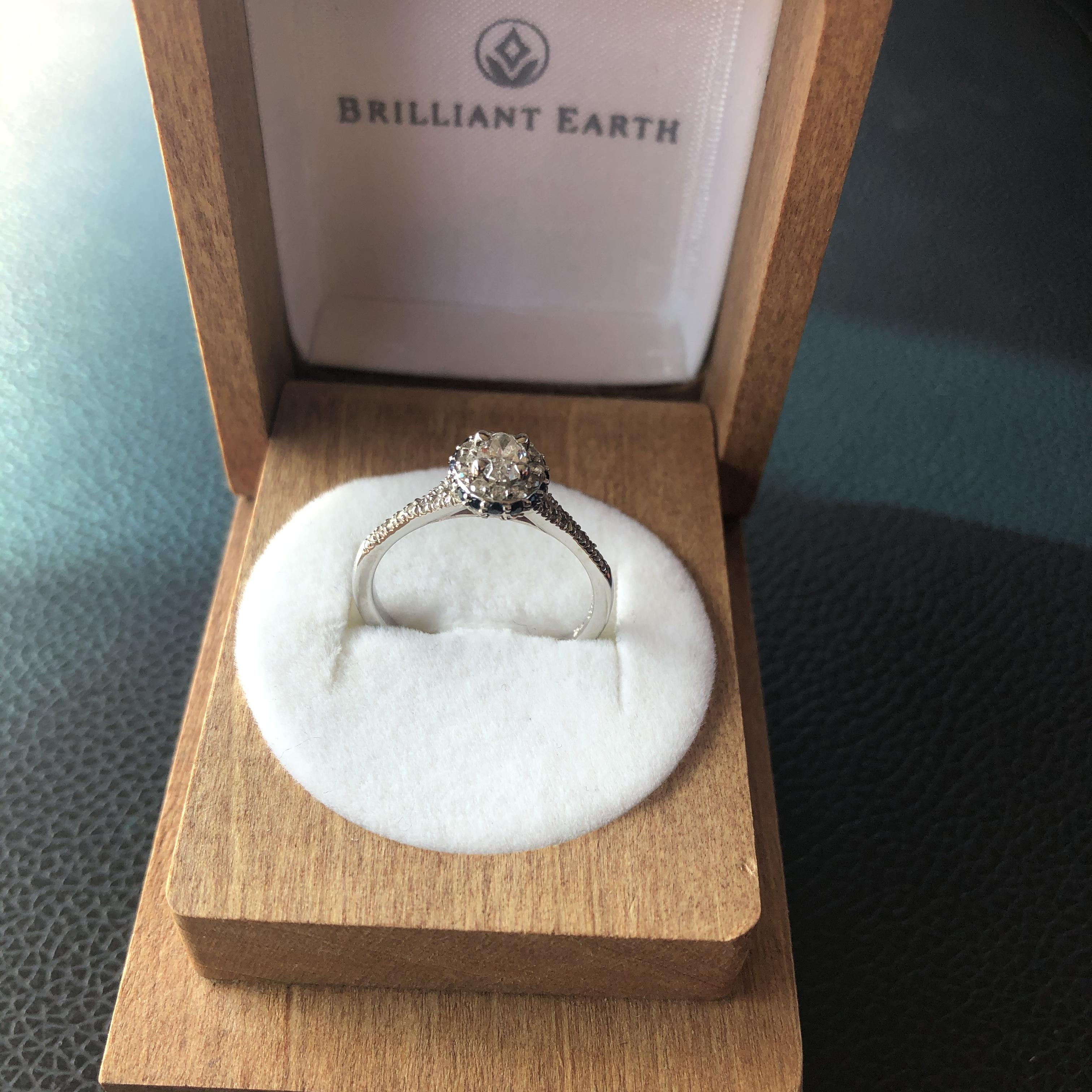 Brilliant Earth, .31 carat,