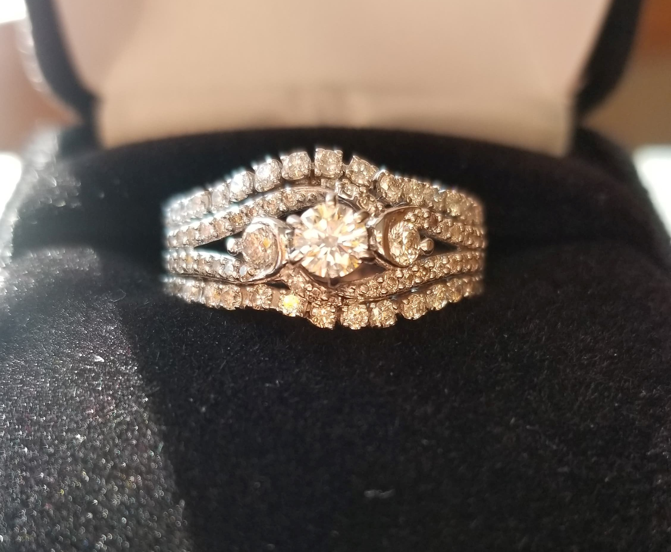 Zales Engagement Ring with