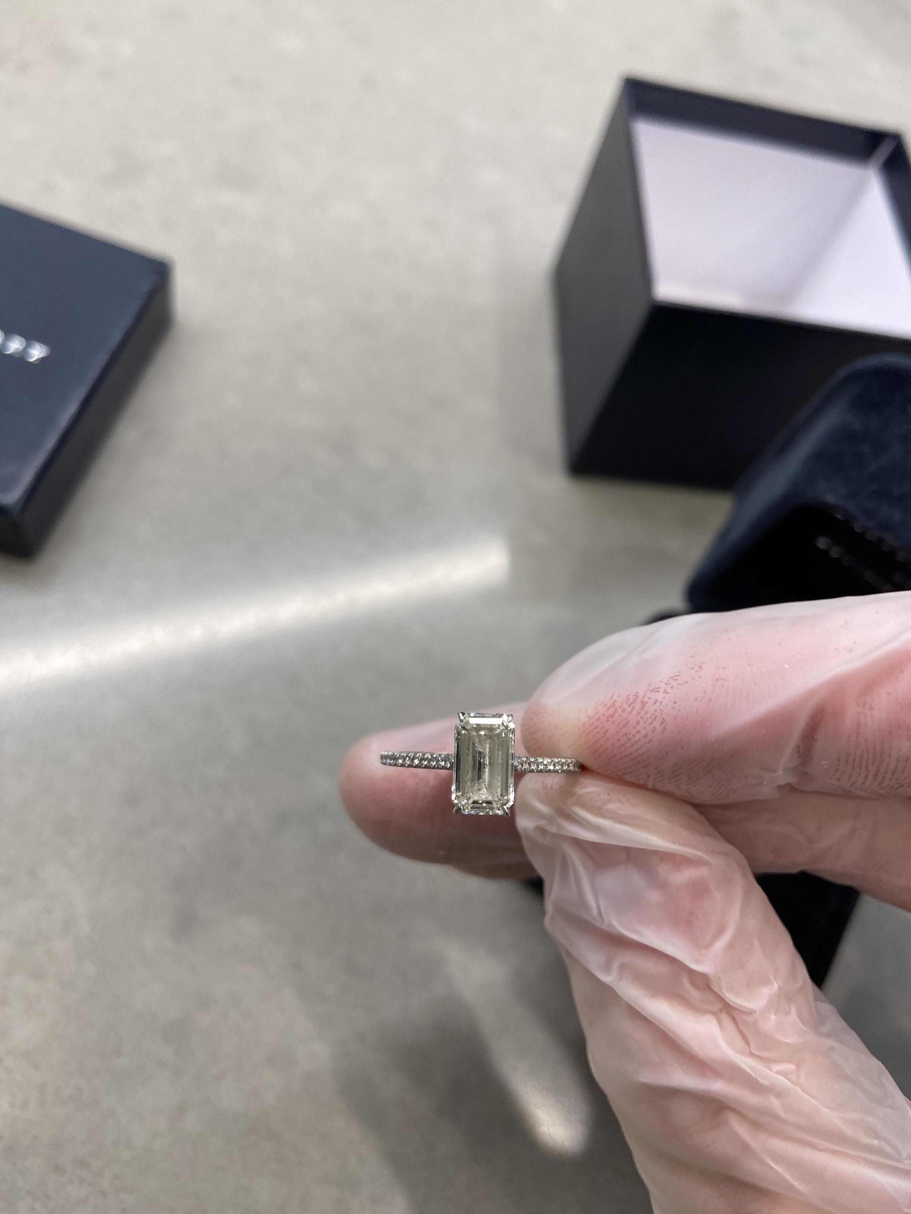 Forevermark 1.53ct Emerald Cut