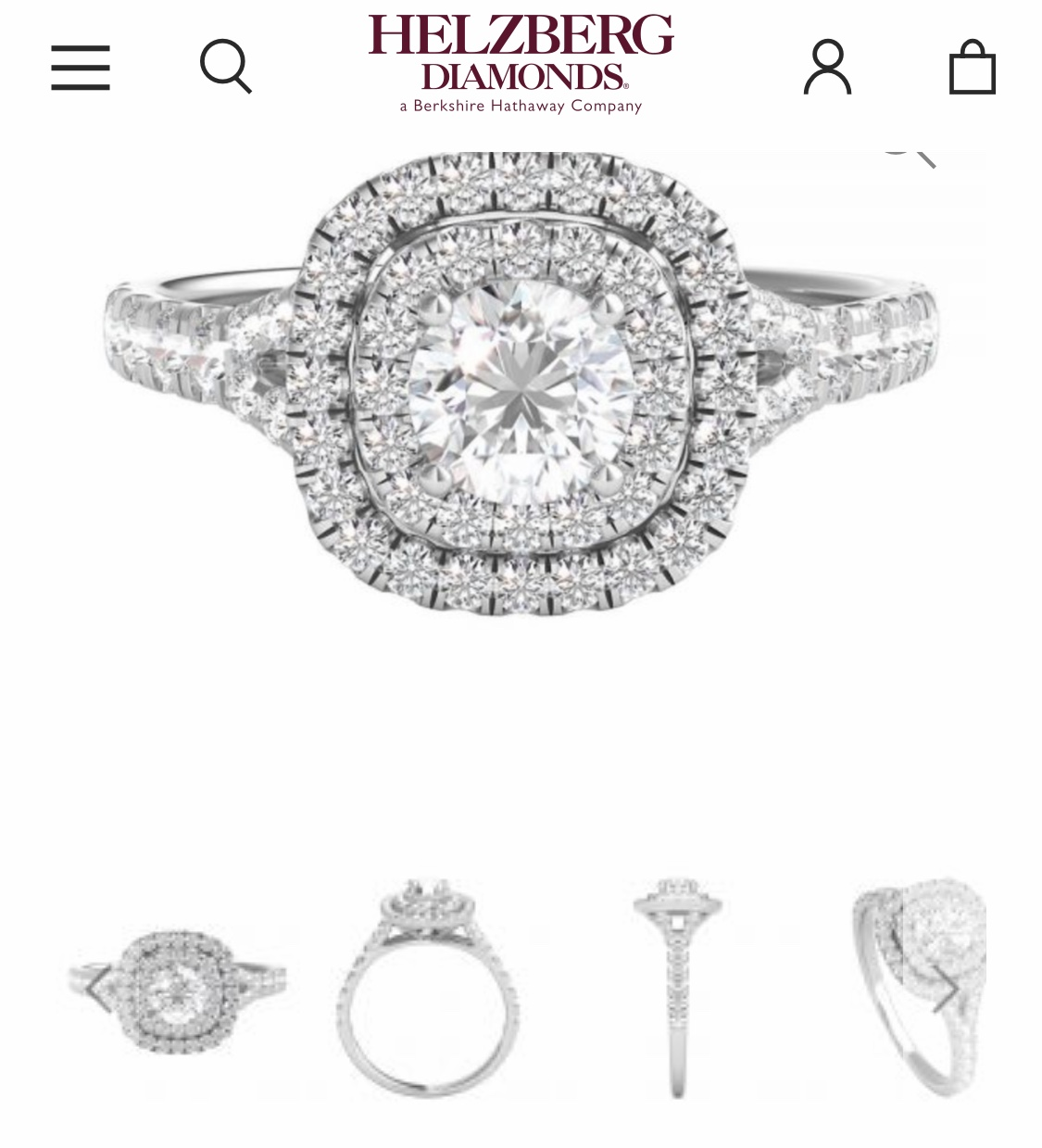 Helzberg Beautiful double halo