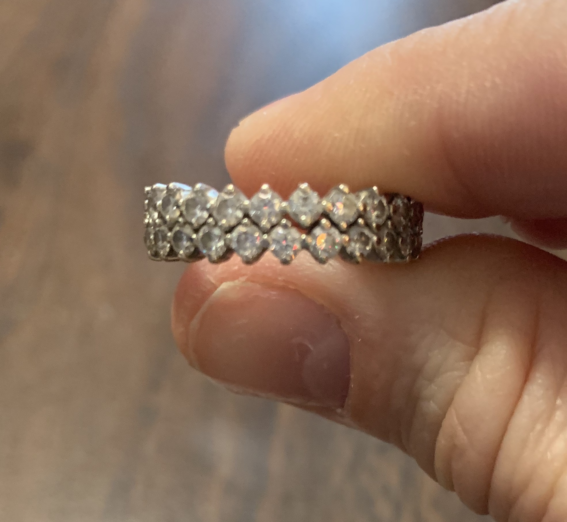 2.24 Carat Double-Banded Eternity