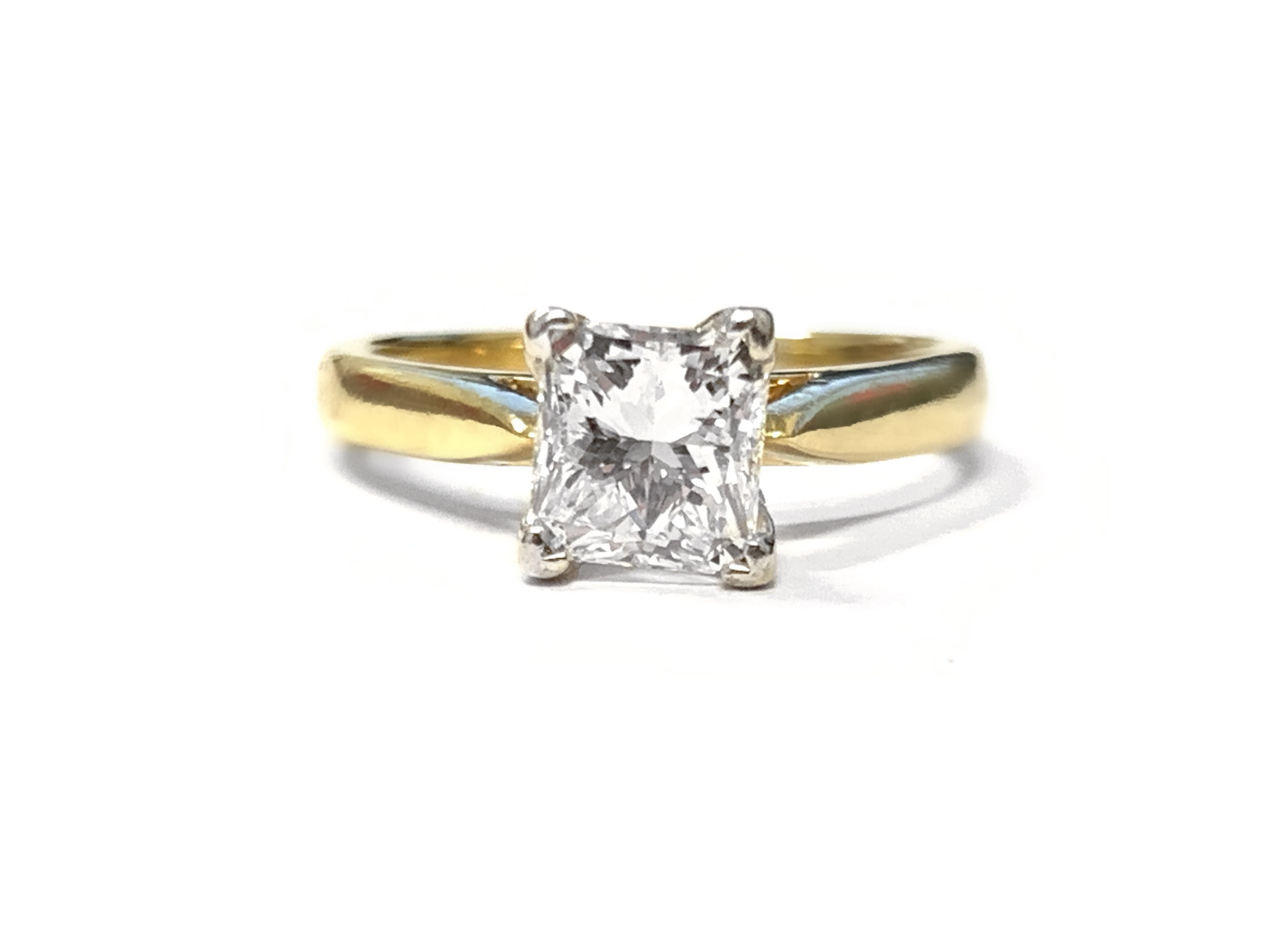 Solitaire 1.00 ct Princess