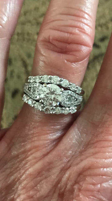 Robbins Brothers Engagement Ring/Wedding