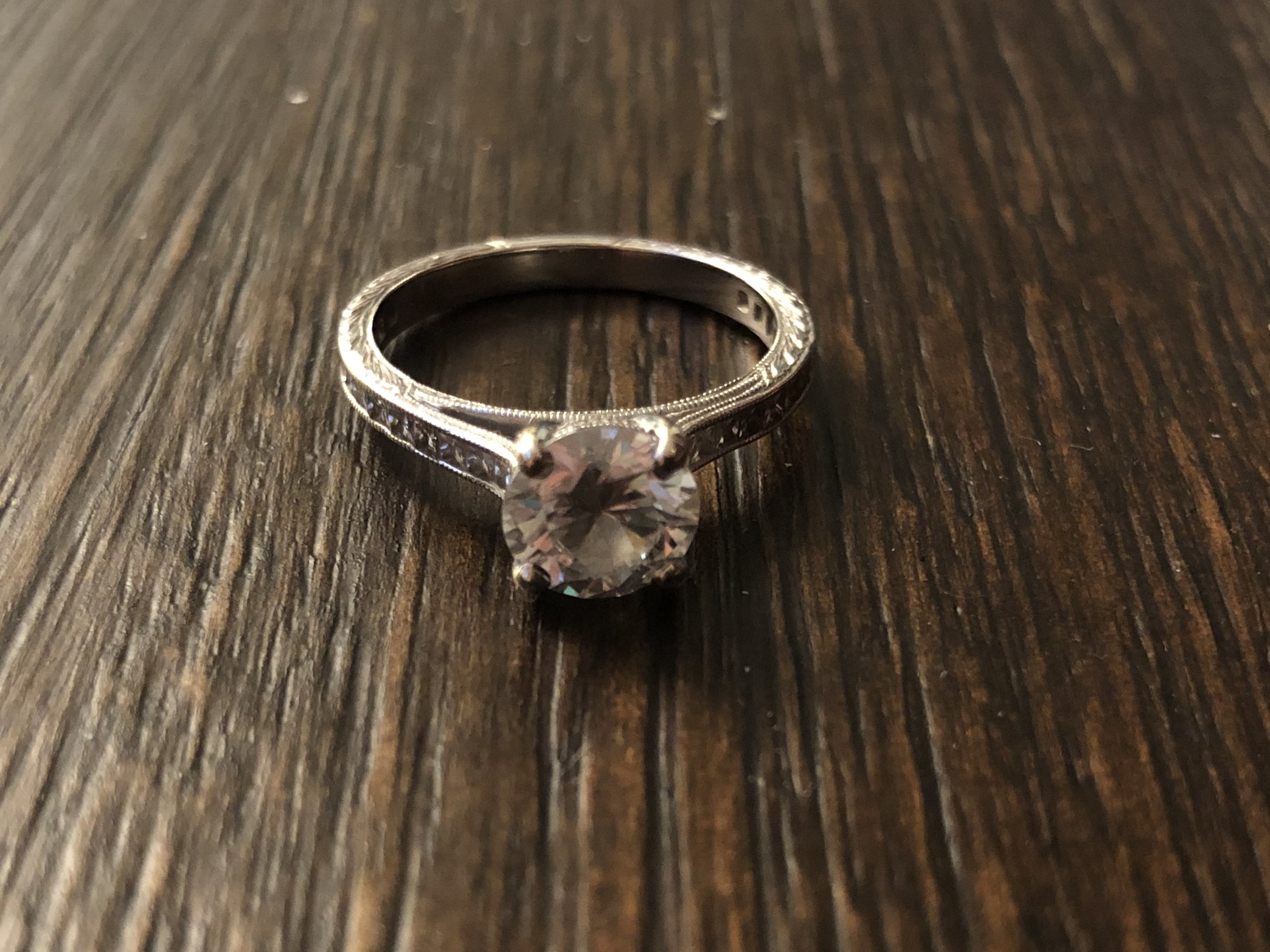 Premium Moissanite Ring