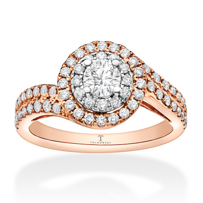 Cushion Engagement rings and
