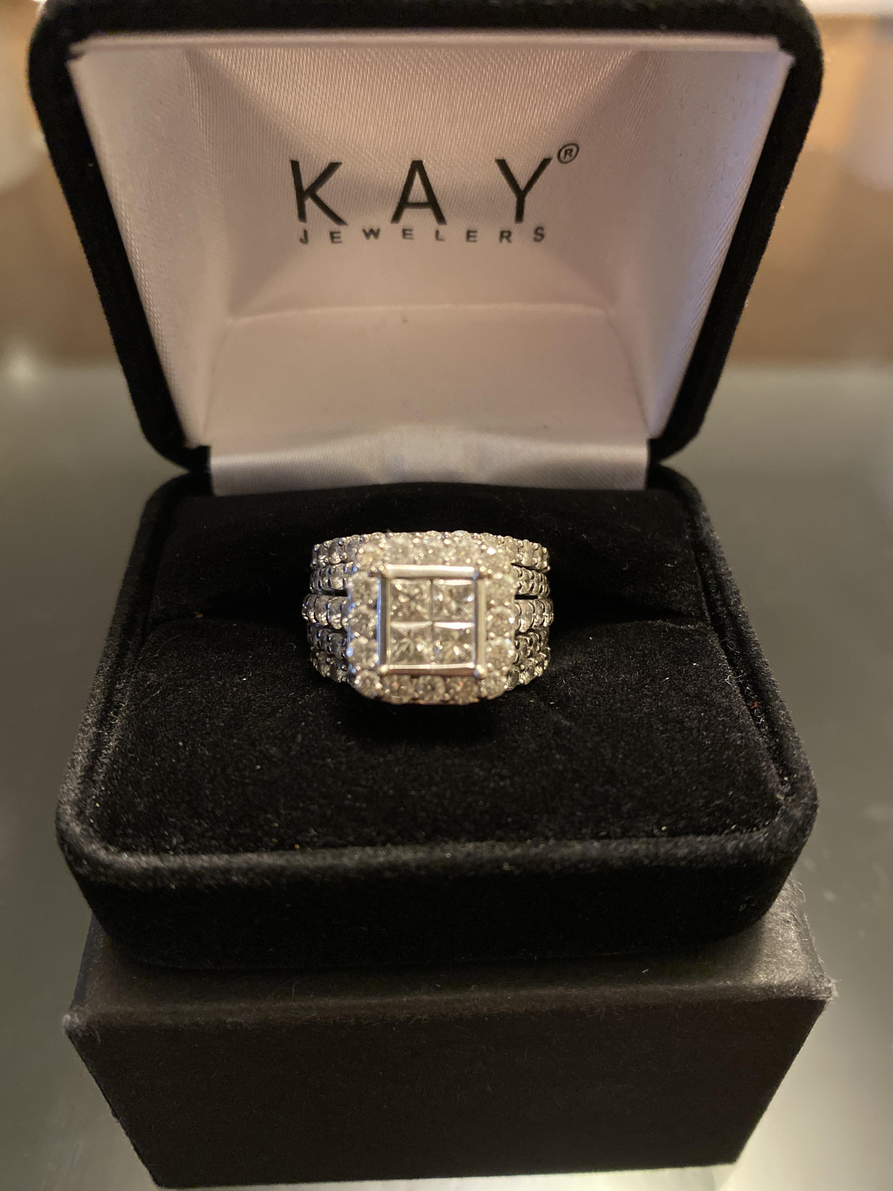 Kay Jewelers Engagement Ring And Bands I Do Now I Don T