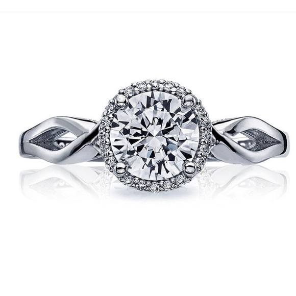 Tacori Platinum Ring w/