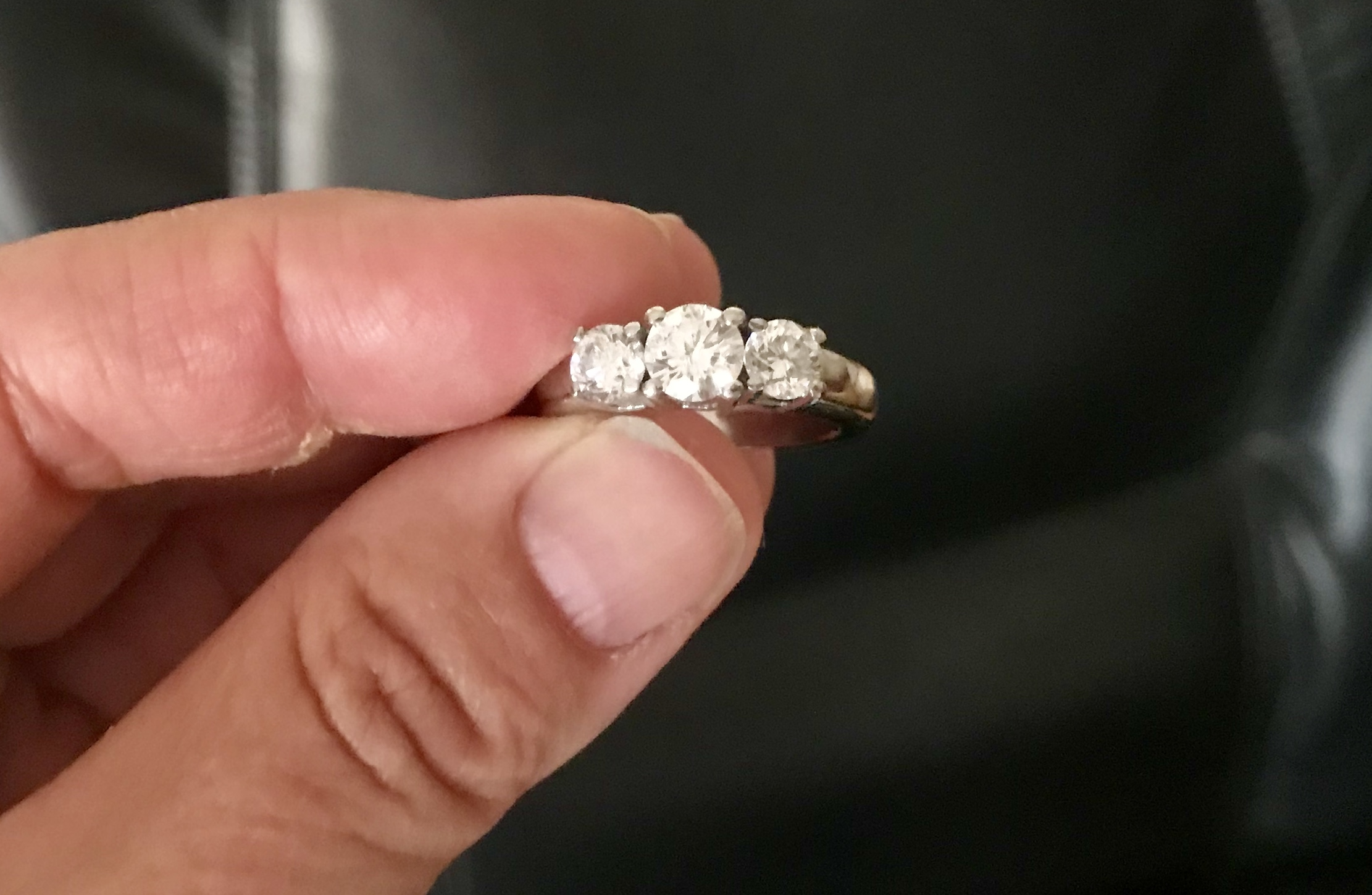Helzberg Platinum 3 Diamond