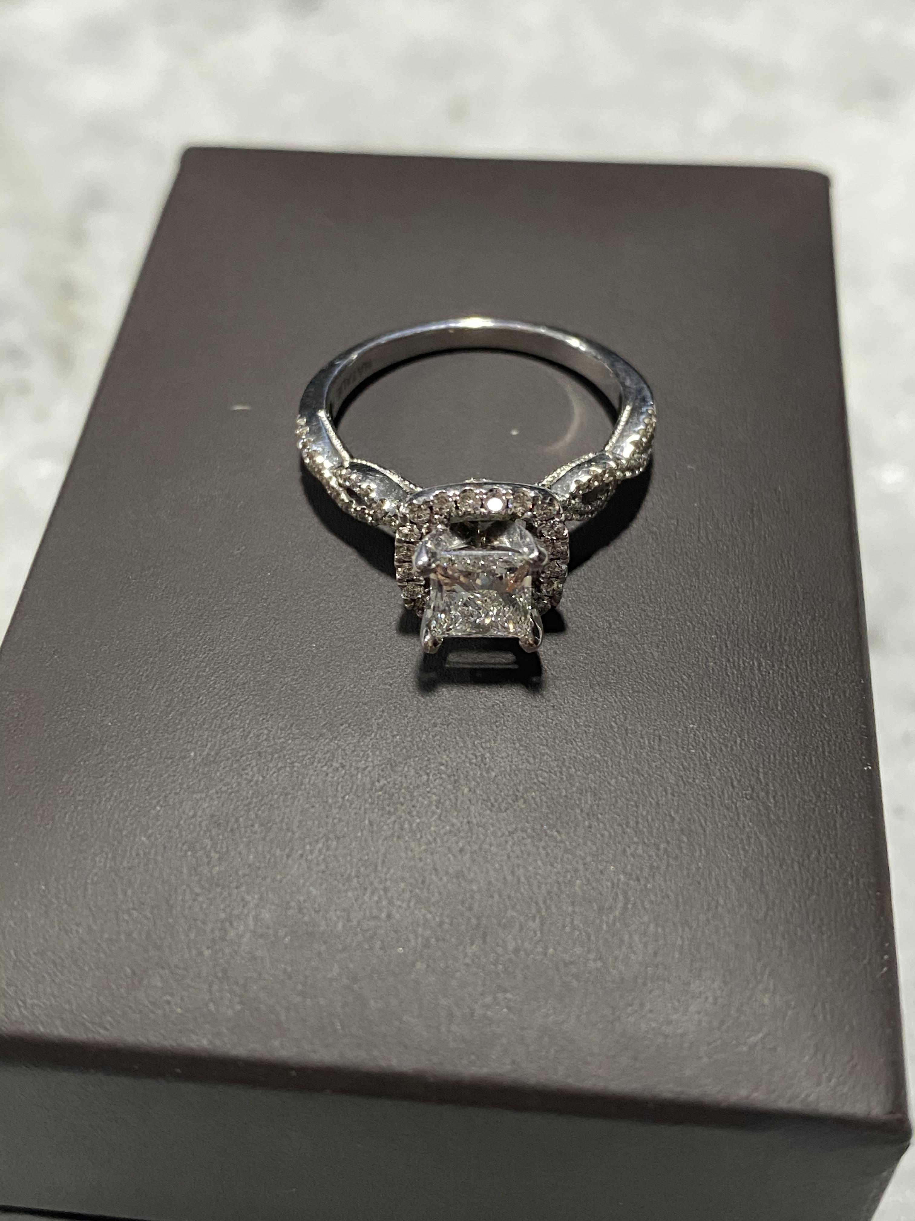 Jared Wedding/Engagement Ring (Princess)