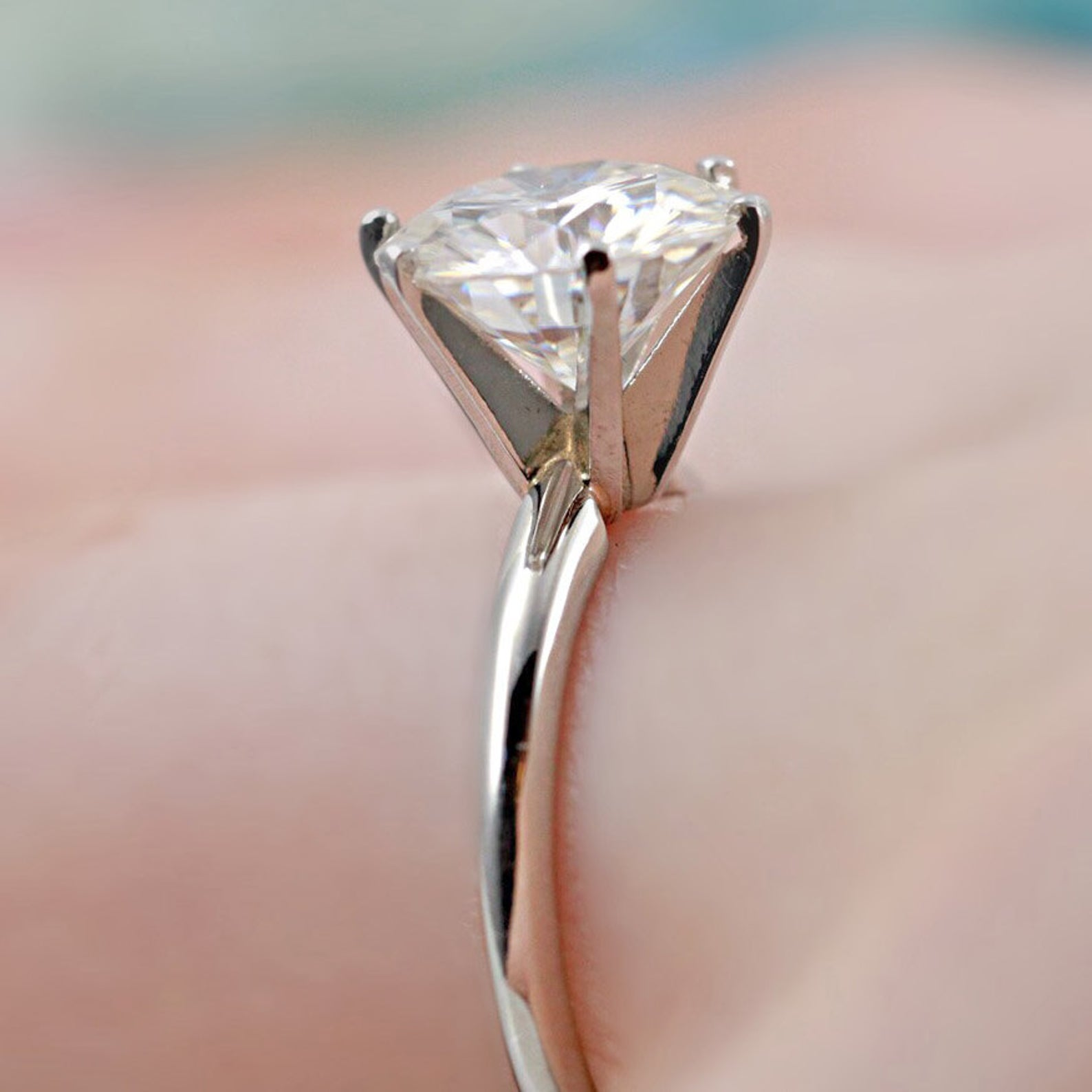 Forever One Moissanite Round