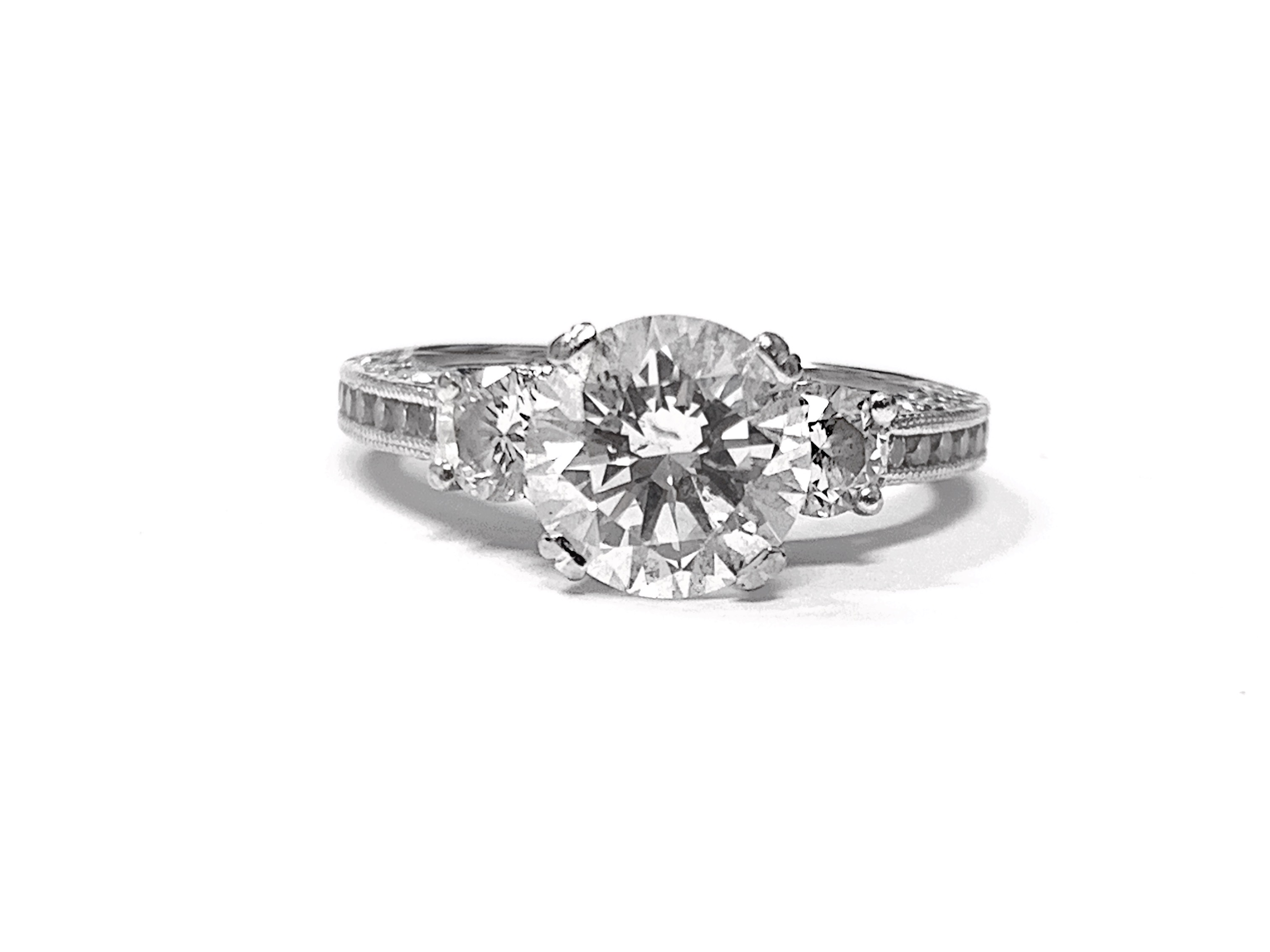 TACORI 1.52ct Round Brilliant