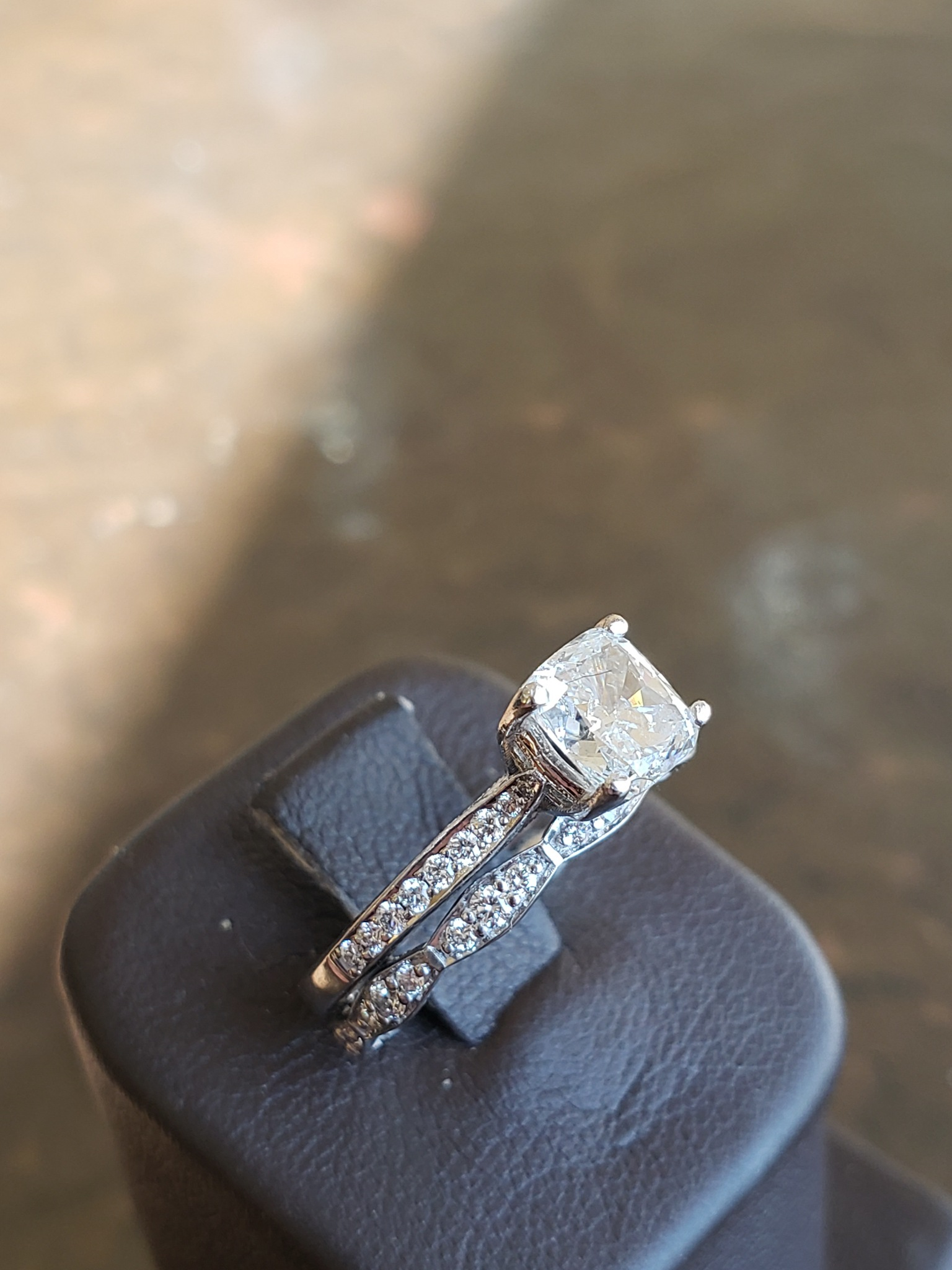 Tacori Diamond ring wedding