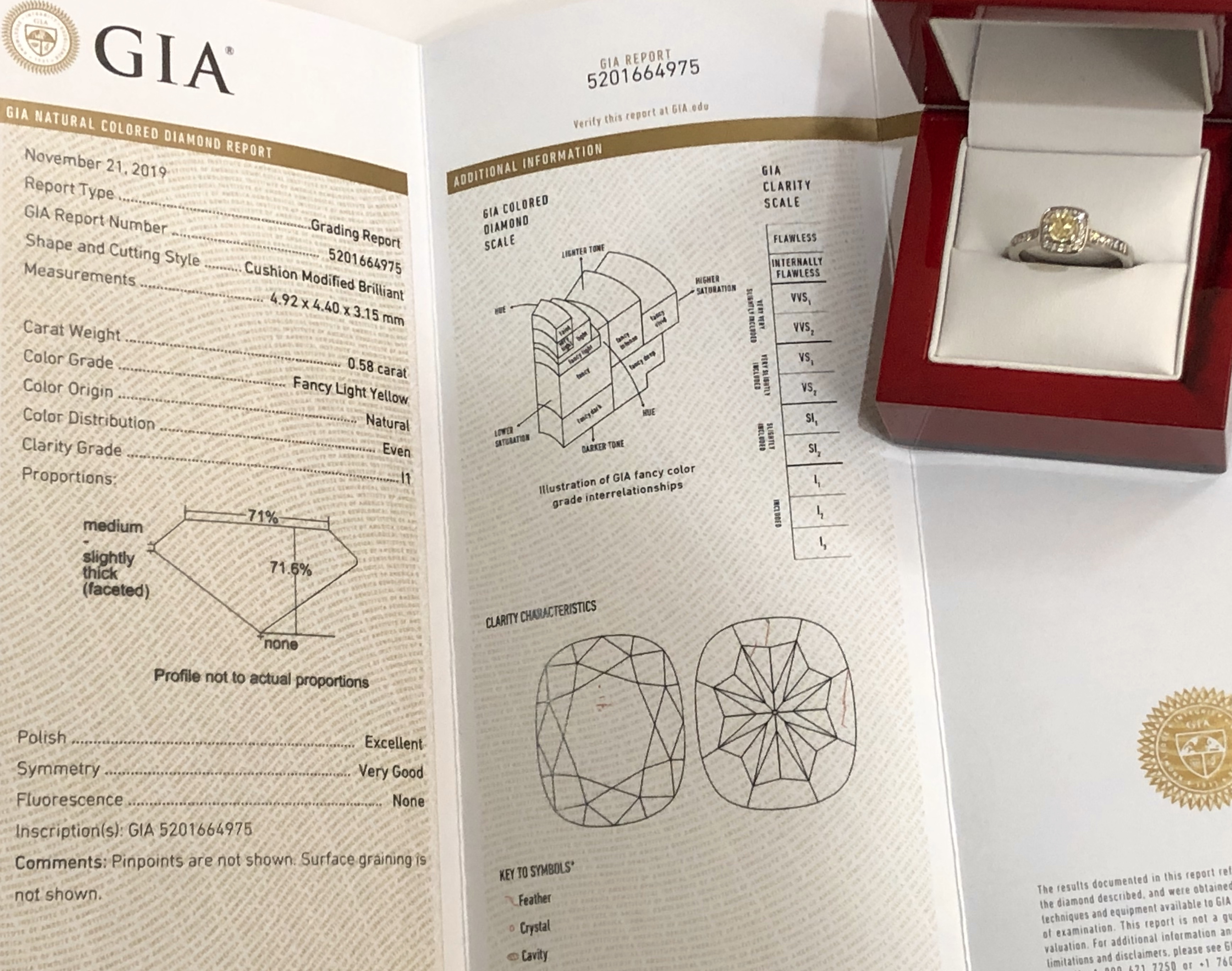 **VIDEO** GIA Certified 0.82ct