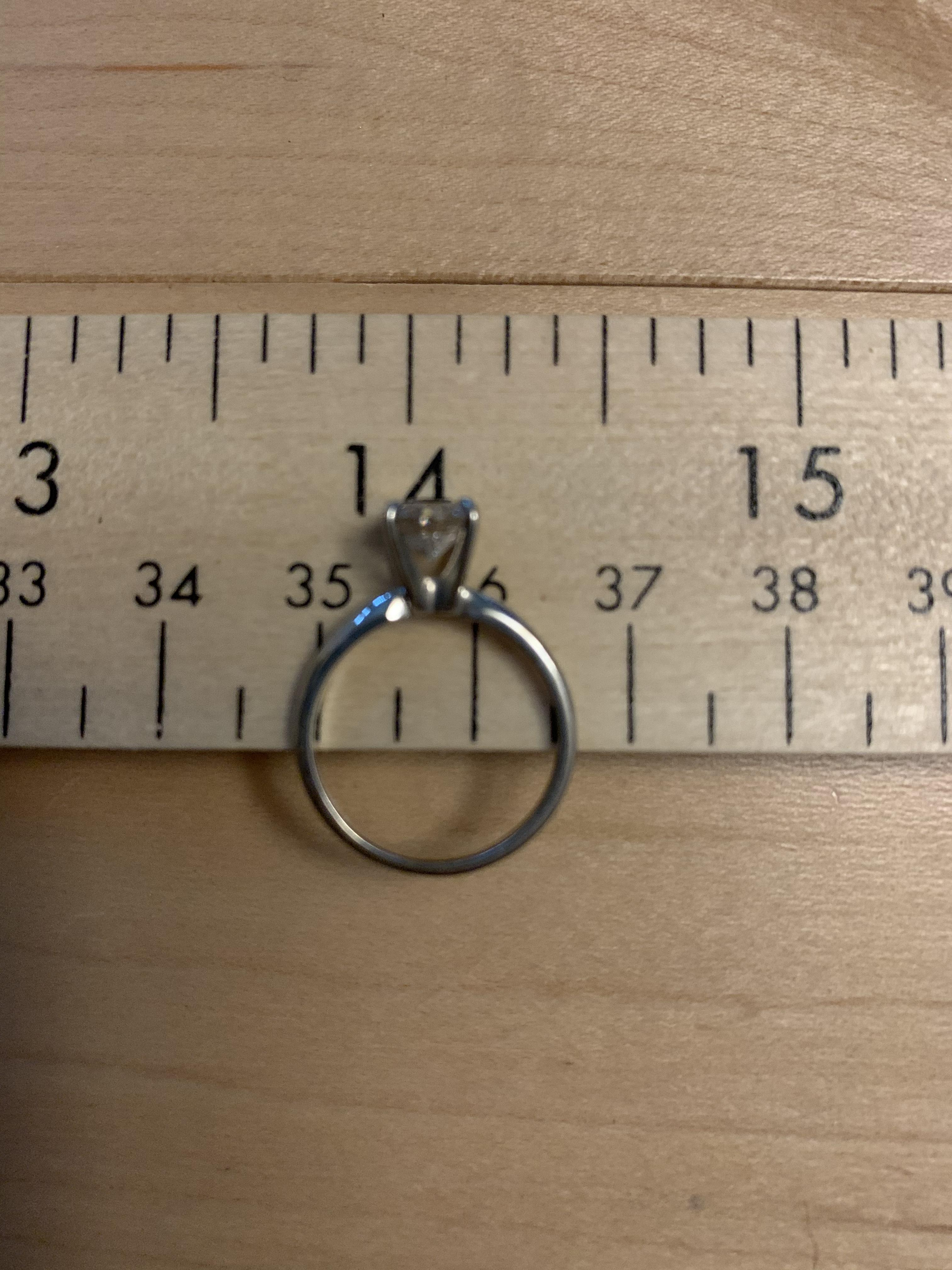 Beautiful 6.25 mm solitaire