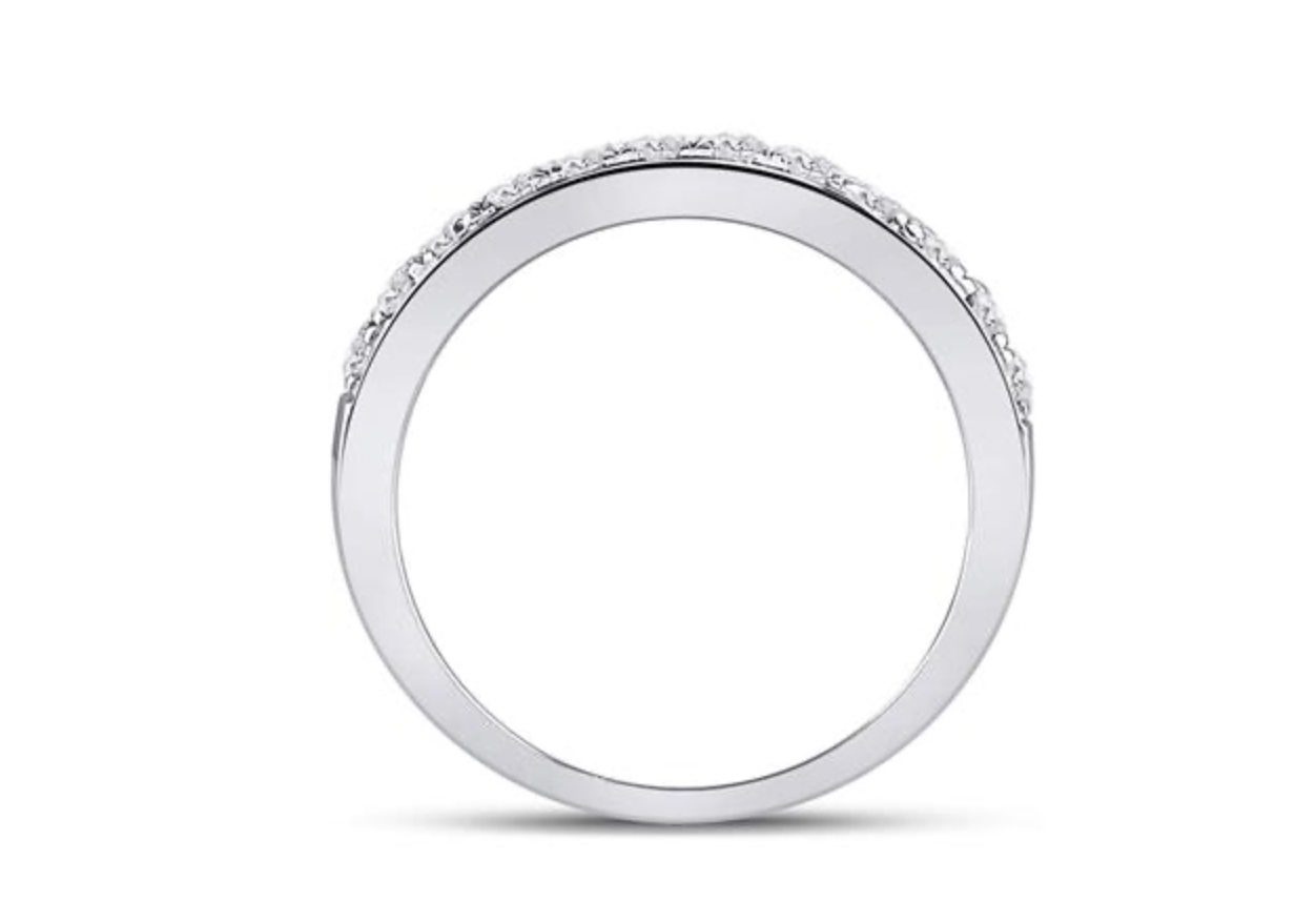 1/2 TCW Wedding Band
