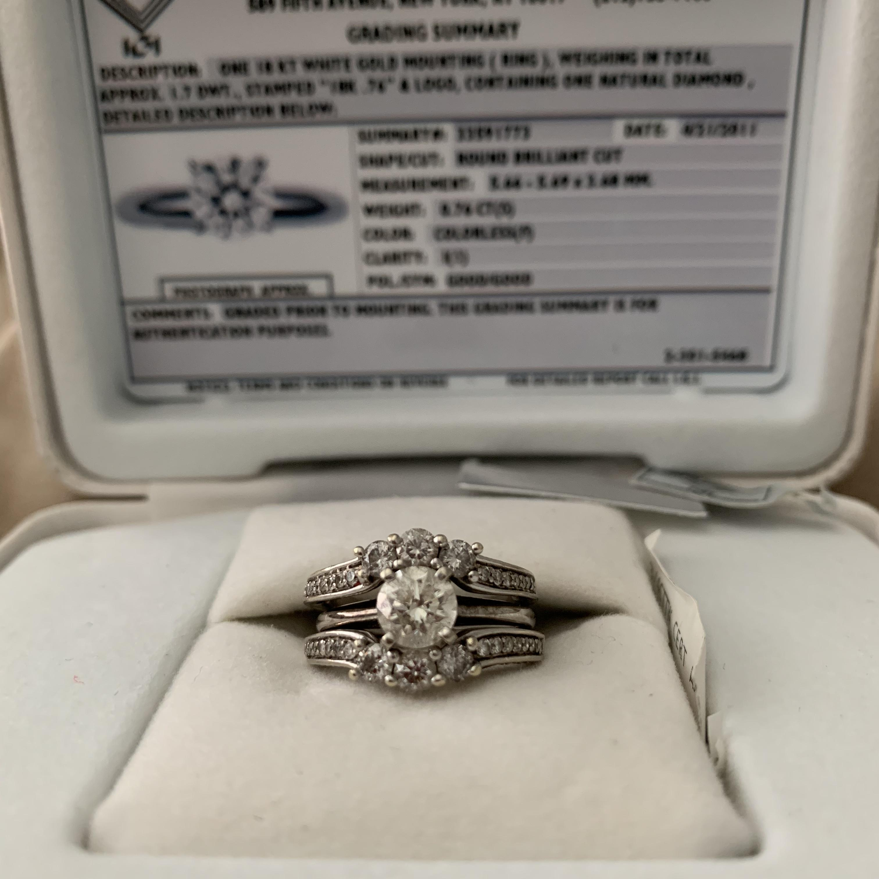 Jared Engagement ring with