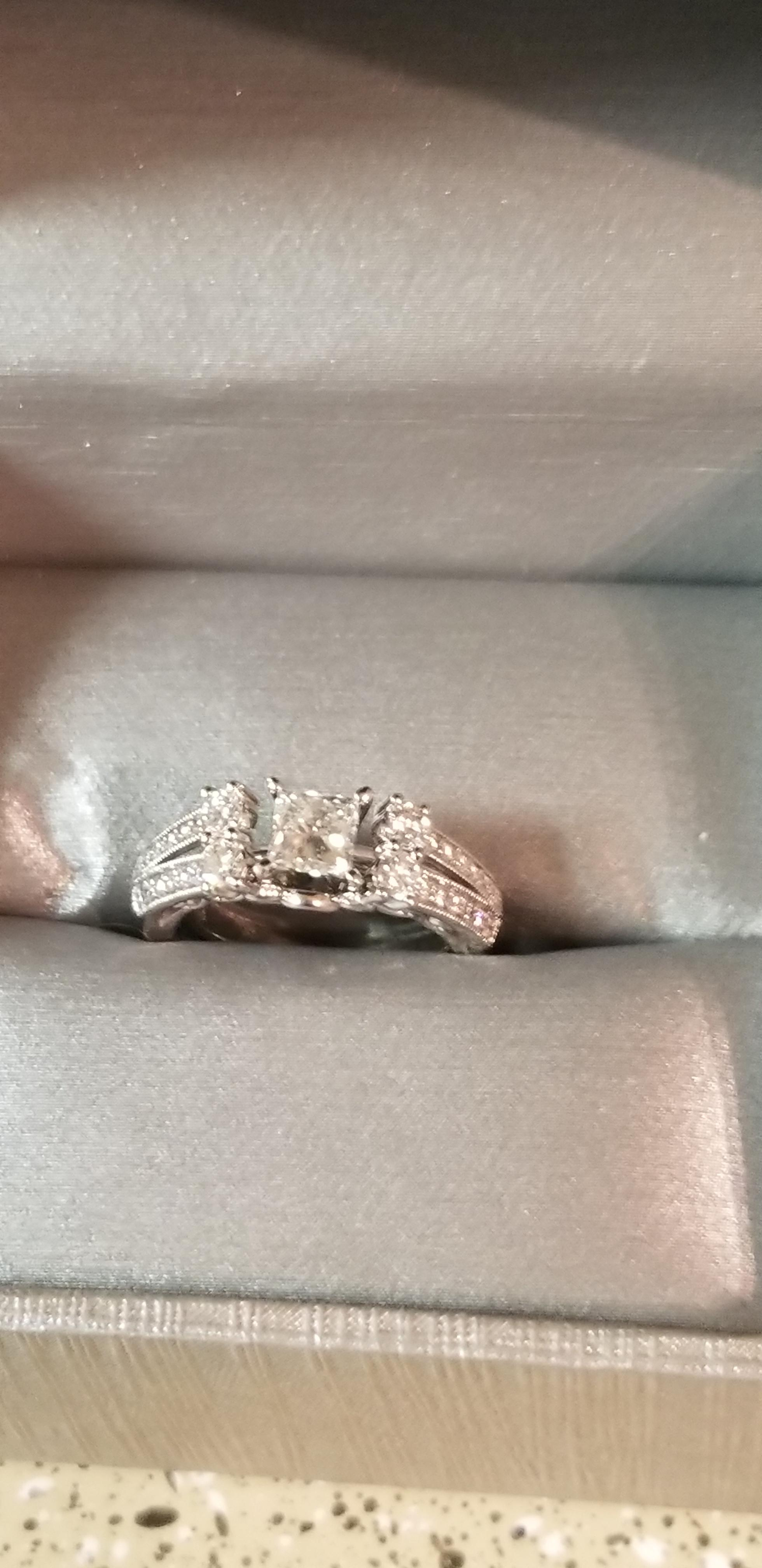 Zales 7ct Certified Diamond Engagement Ring Set I Do Now I Don T