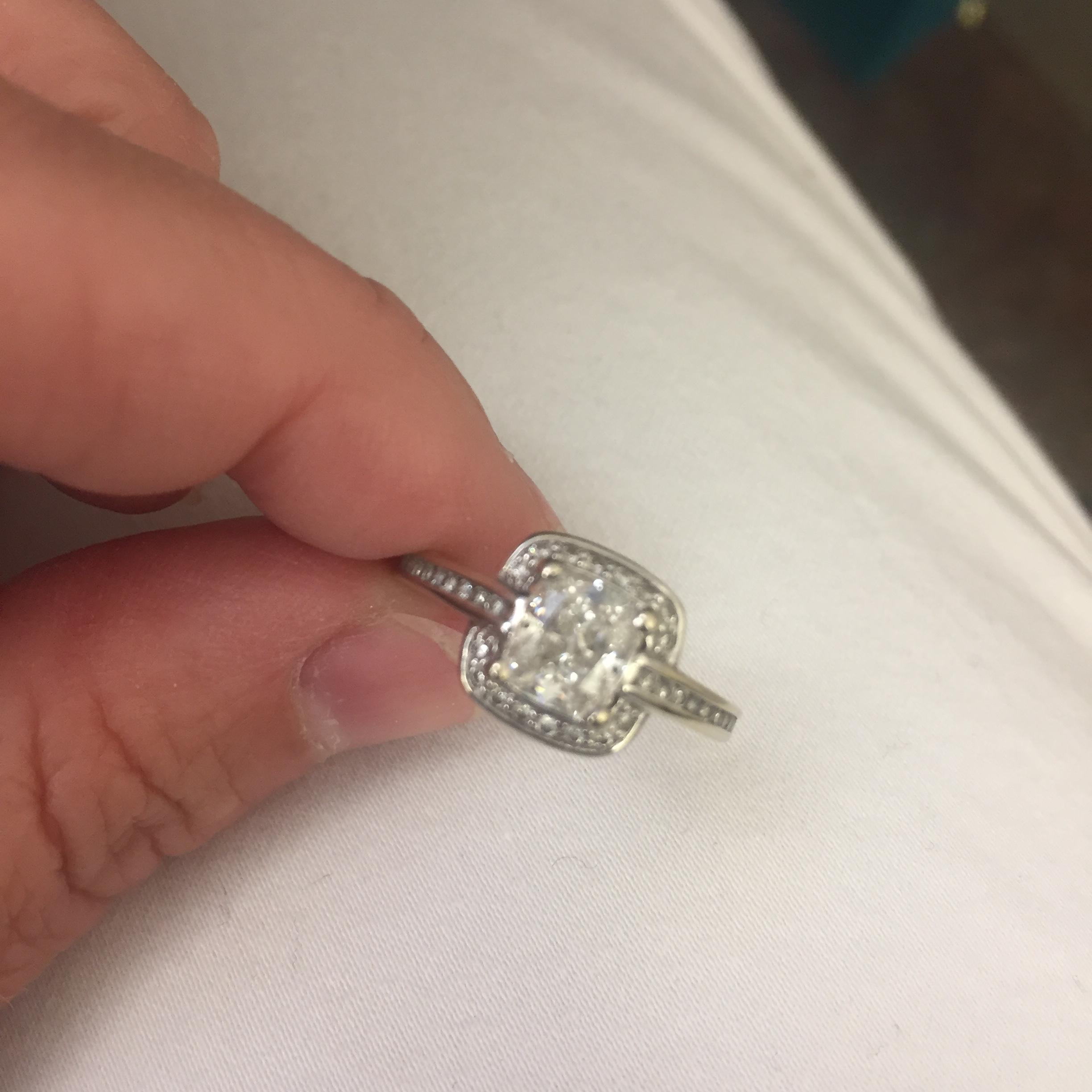 Cushion Cut Diamond Engagement