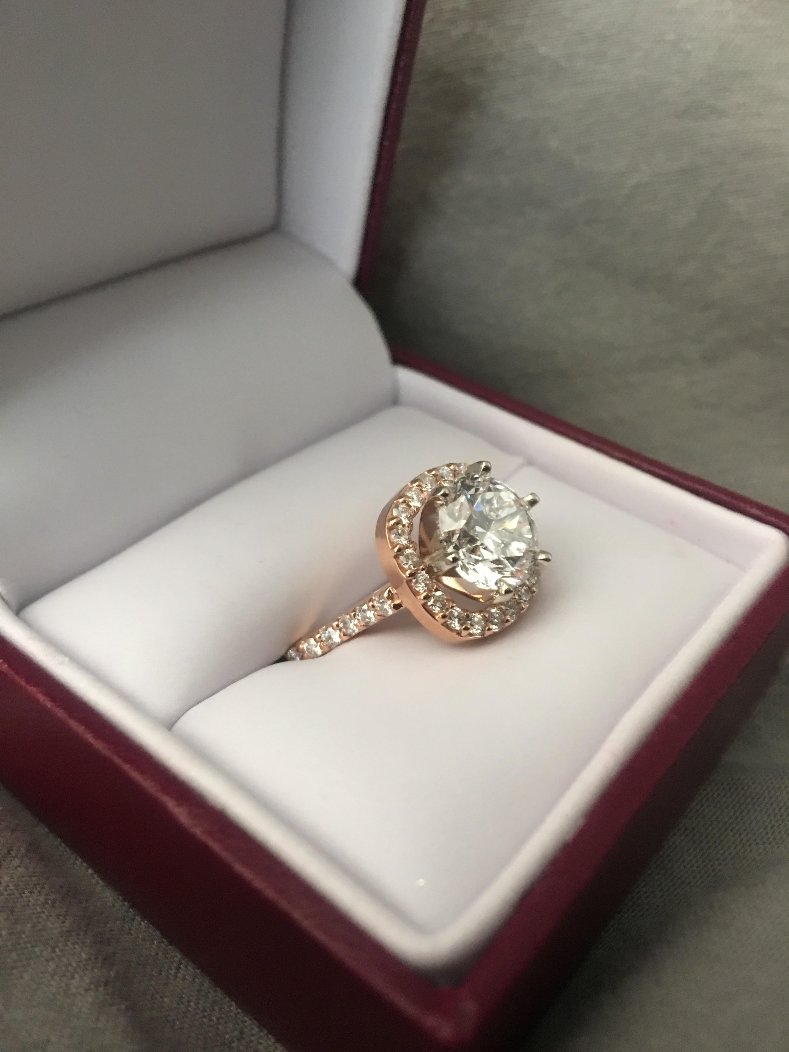 ***REDUCED PRICE***Helzberg New Engagement