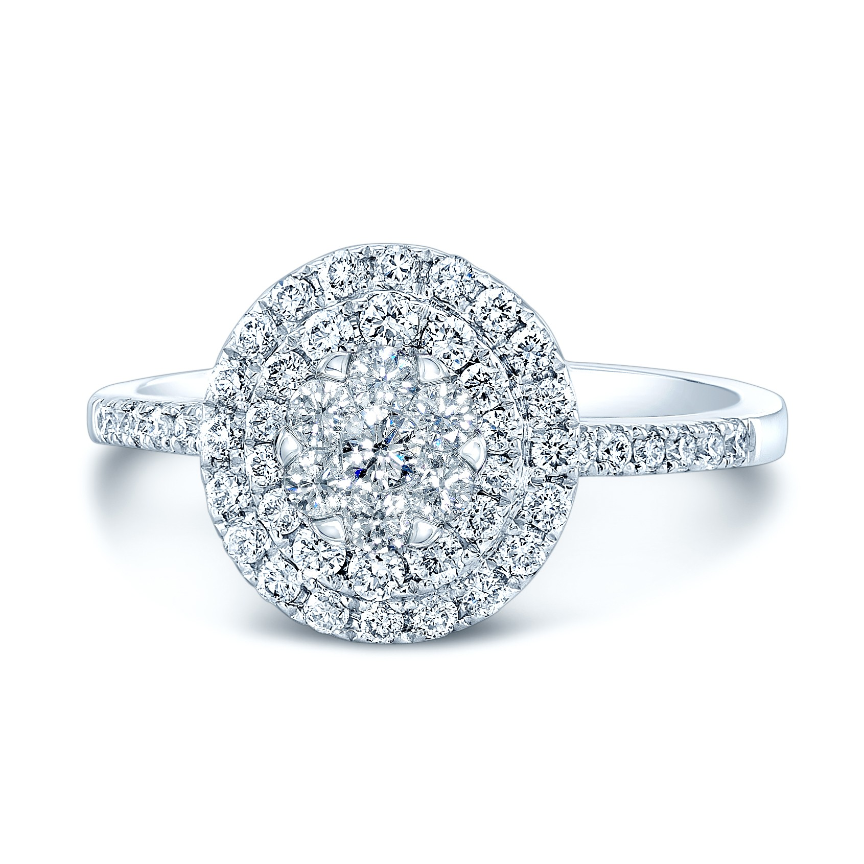 Coronet Zorya Diamond Halo