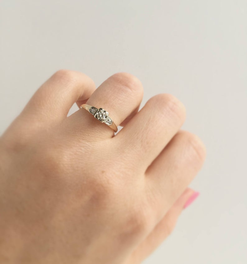 Vintage 14k Yellow and