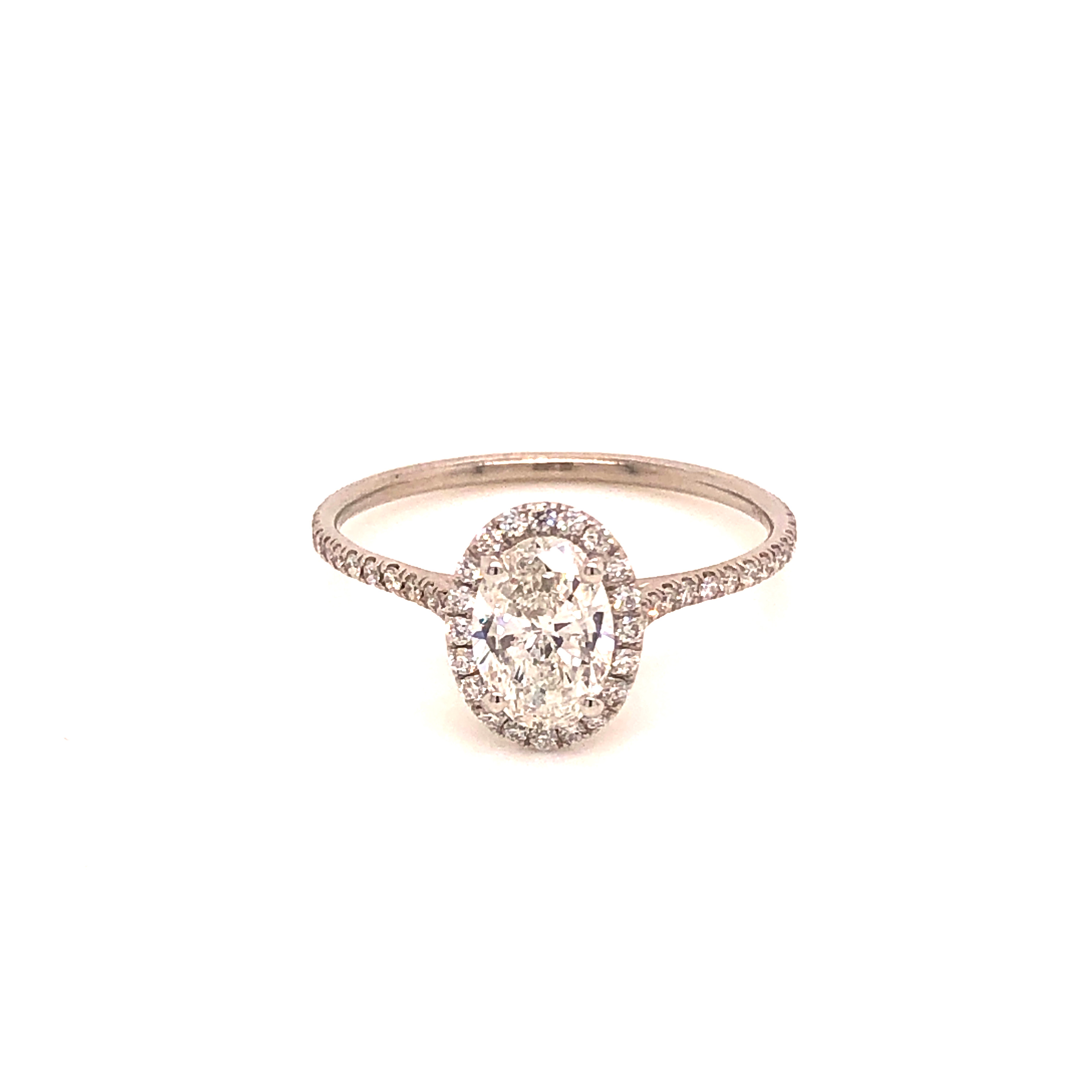 GIA certified, Oval Brilliant