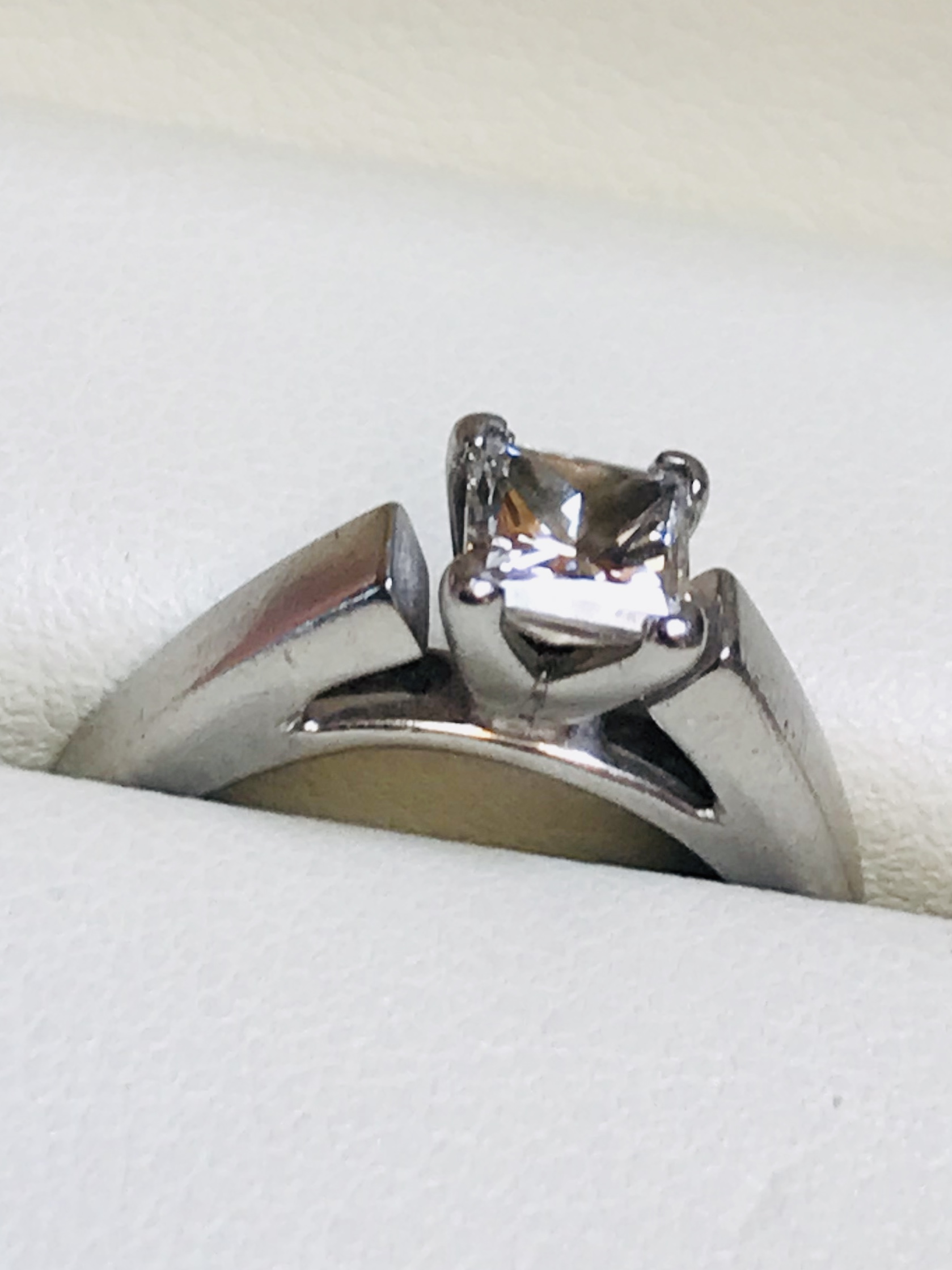 .72 Ct Princess Cut