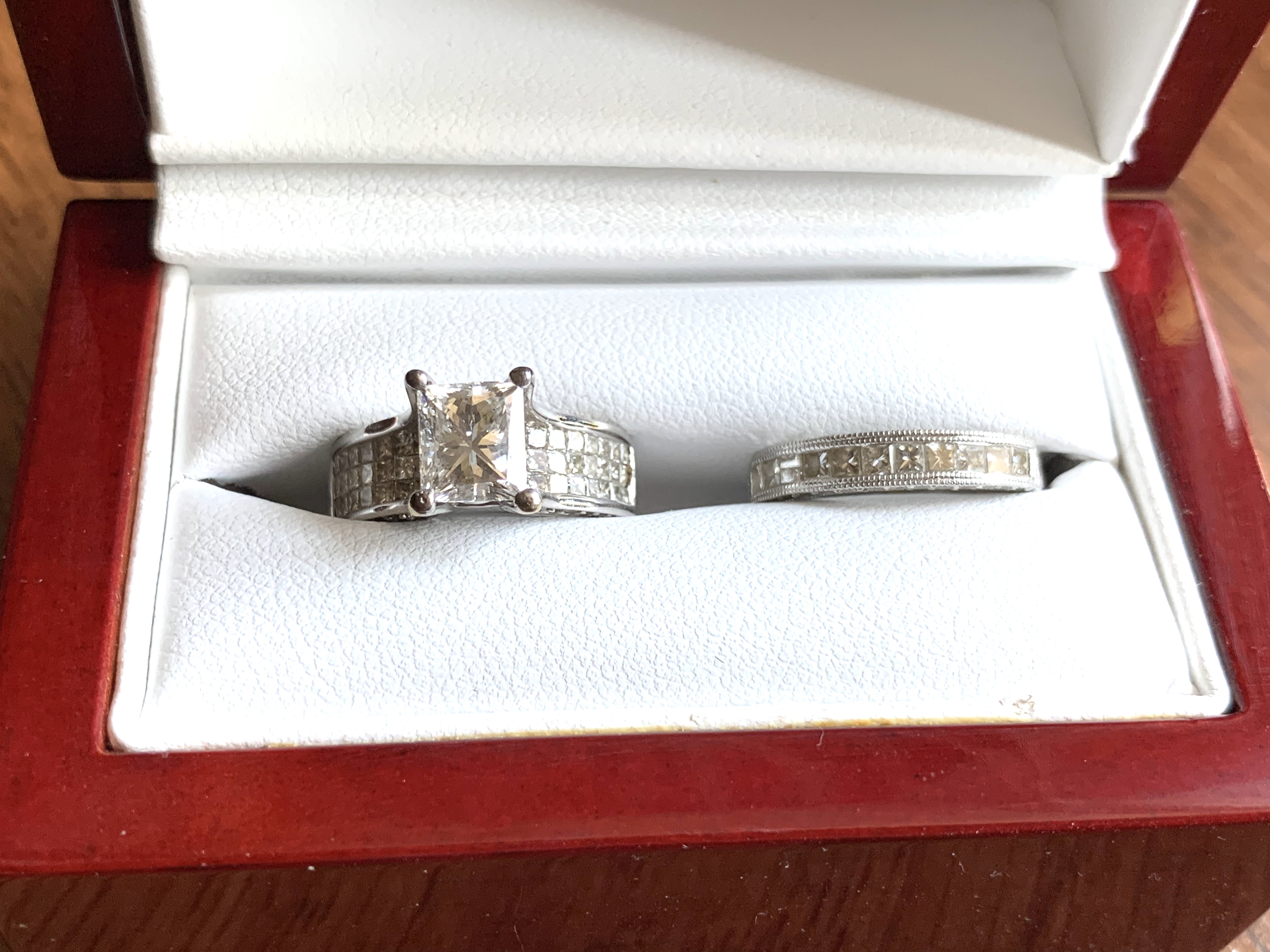 Engagement Band and Wedding