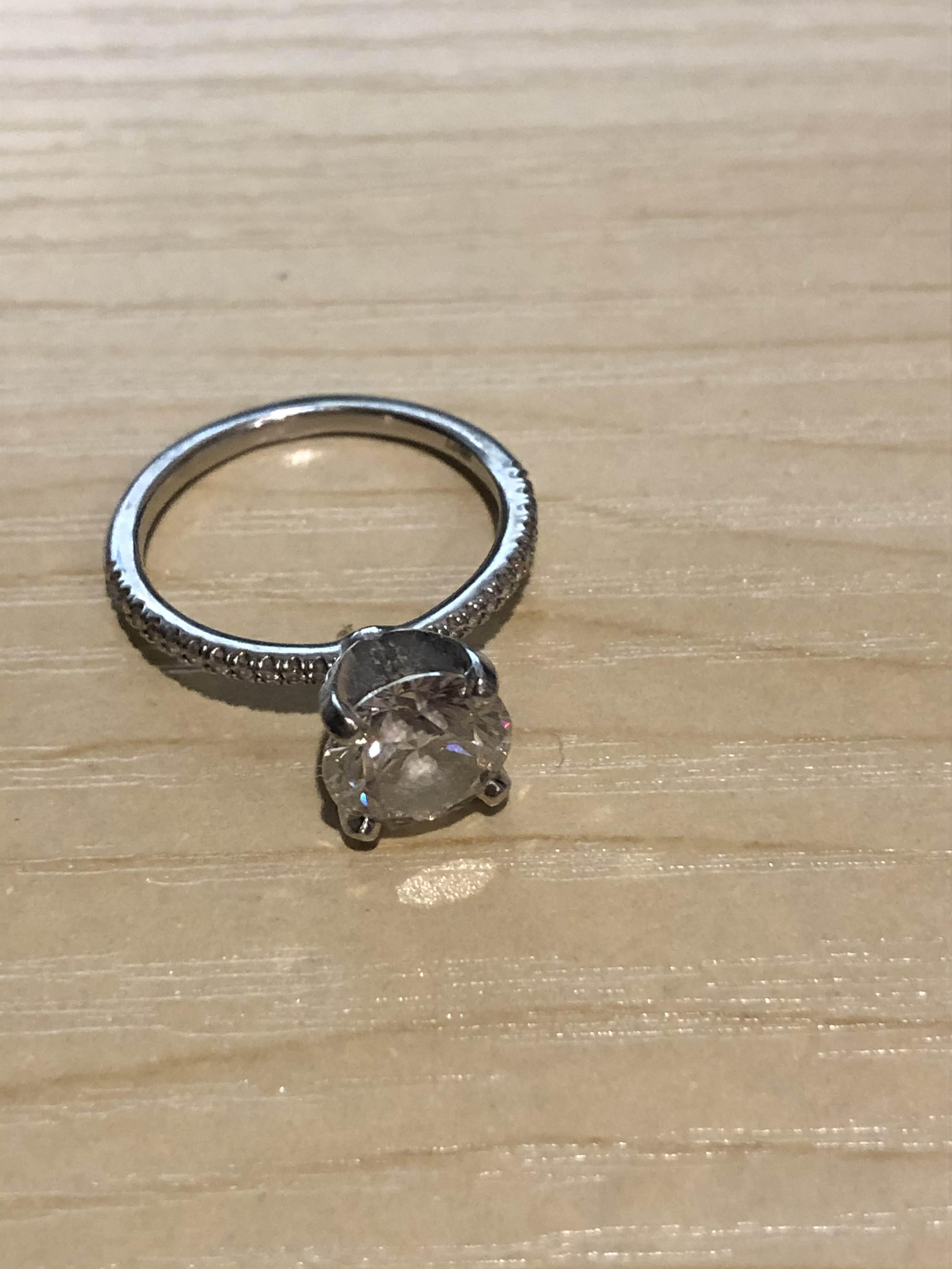1.84 ct micropave engagement