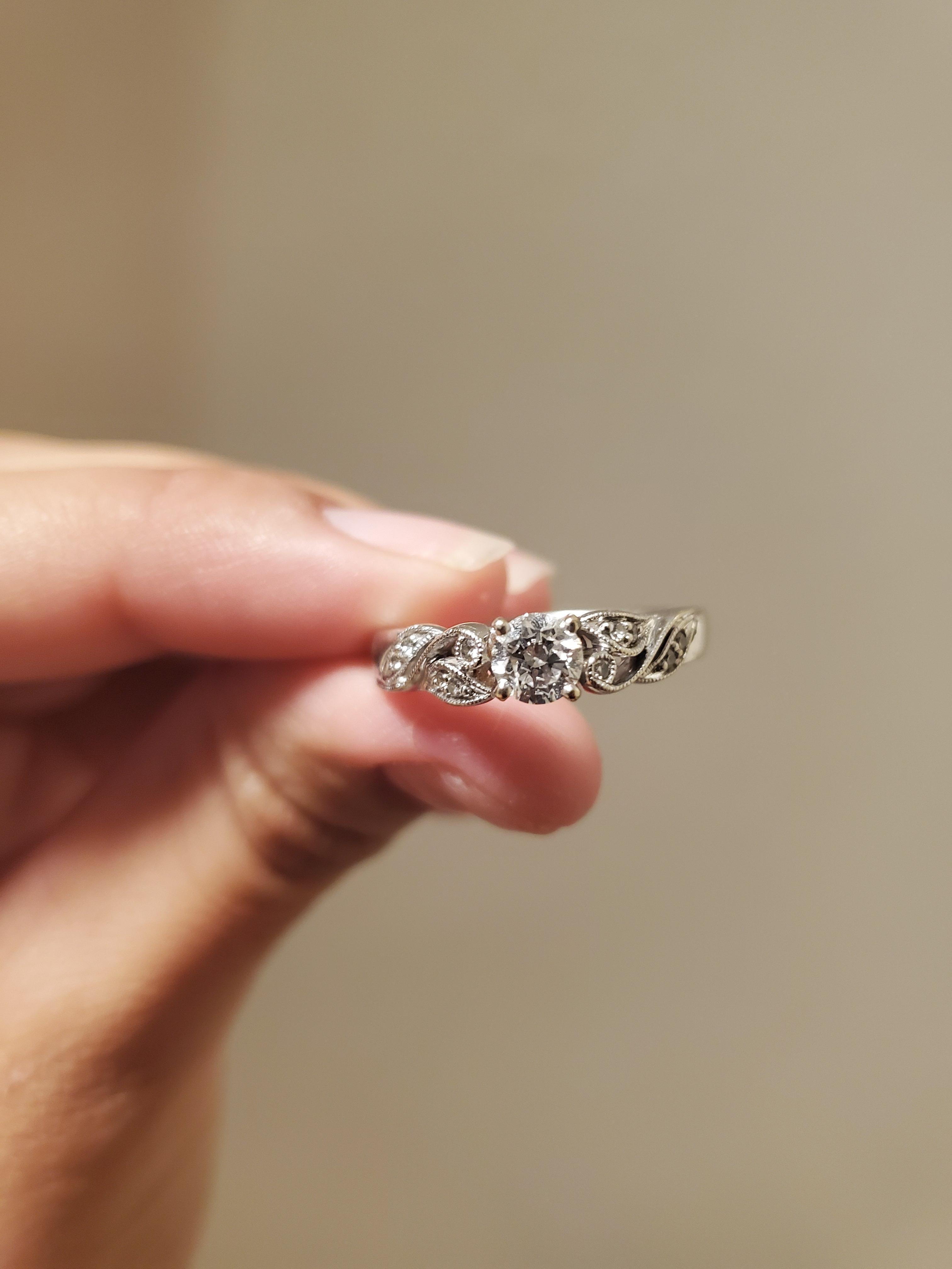 Beautiful engagement ring w