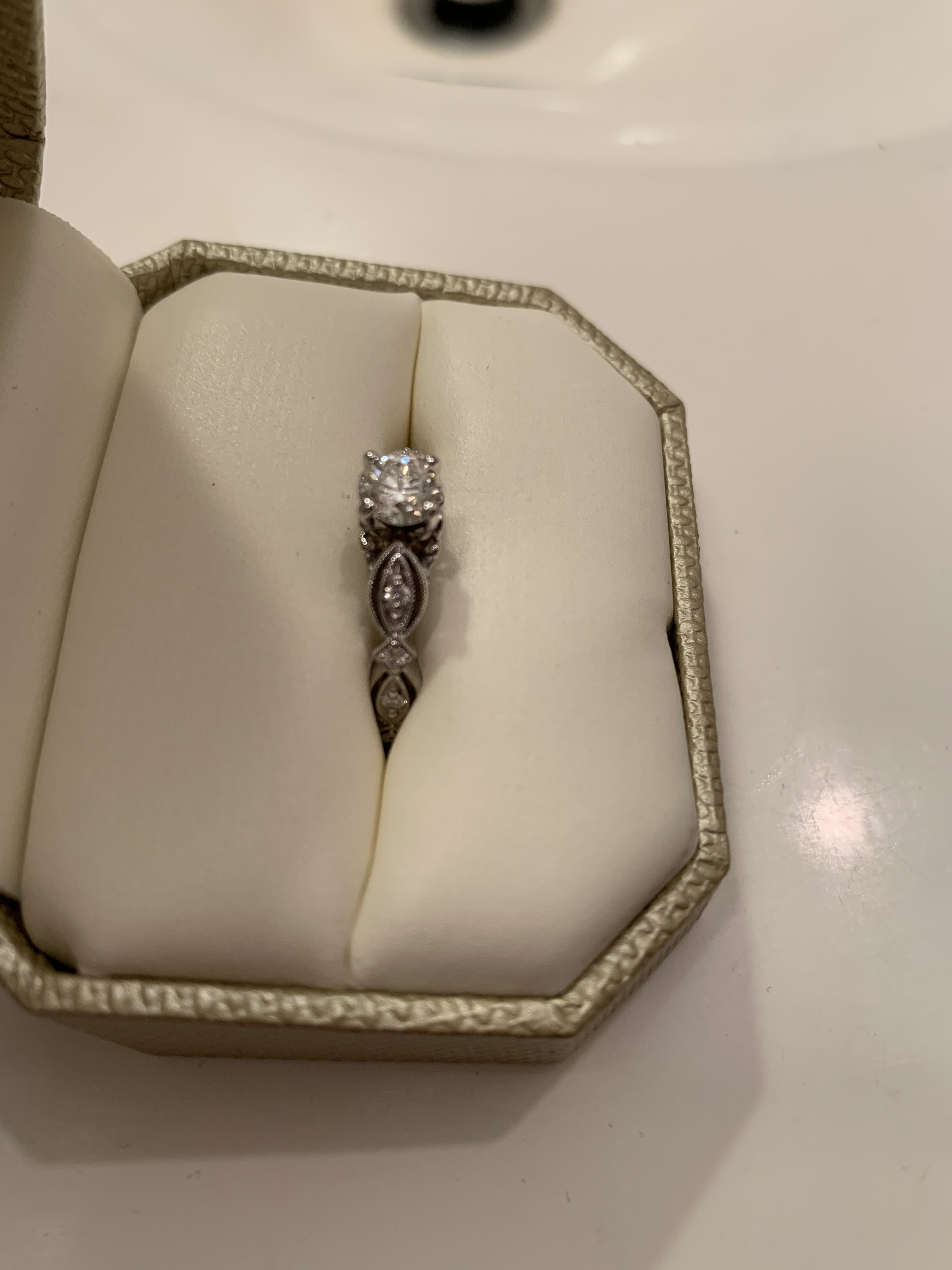 Engagement Ring - Band