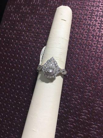 Three-Piece Engagement Ring and