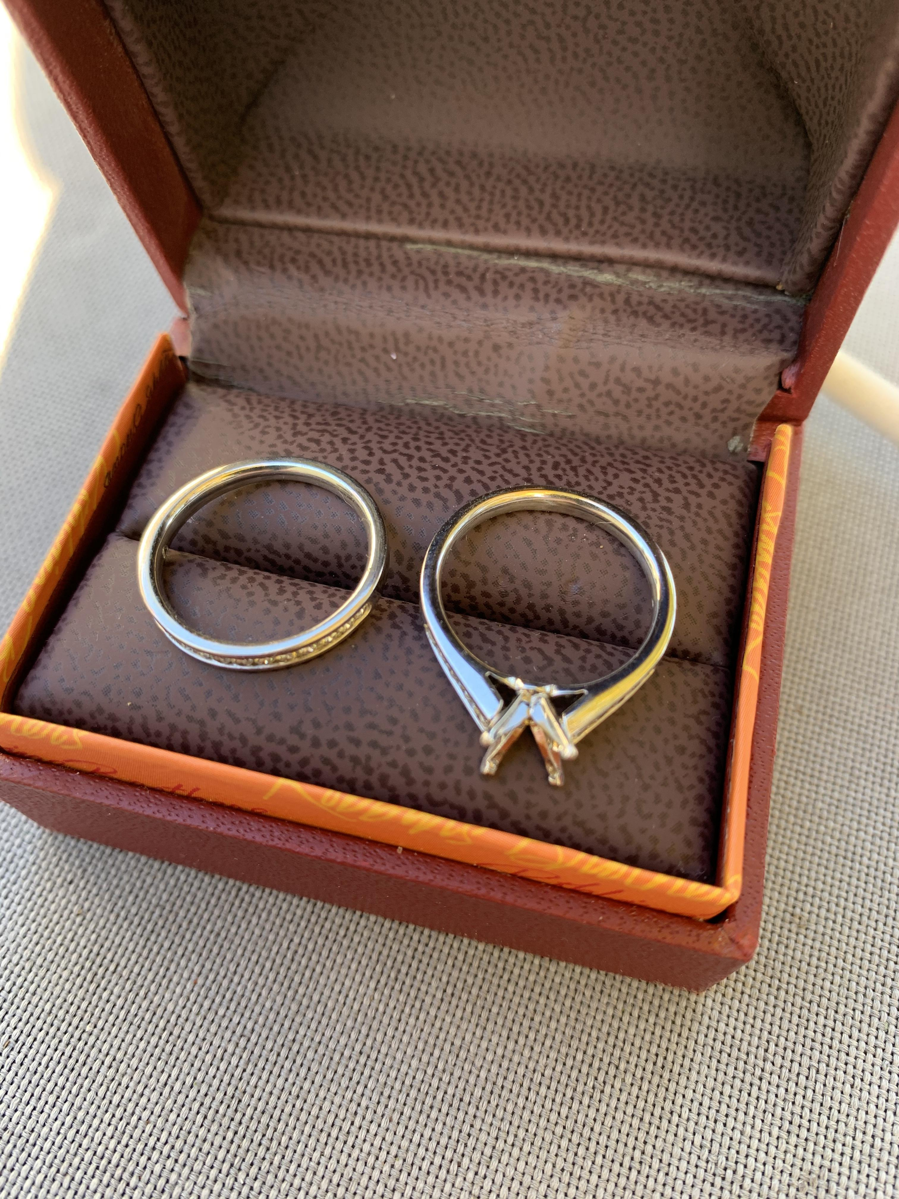 Robbins Brothers Wedding Set
