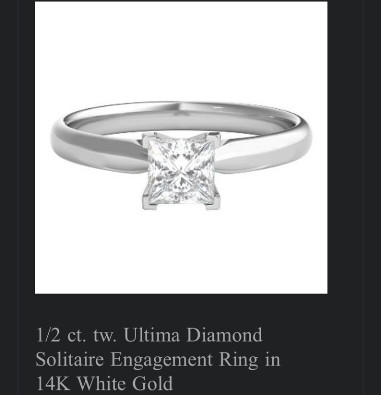 .51 CT diamond solitaire
