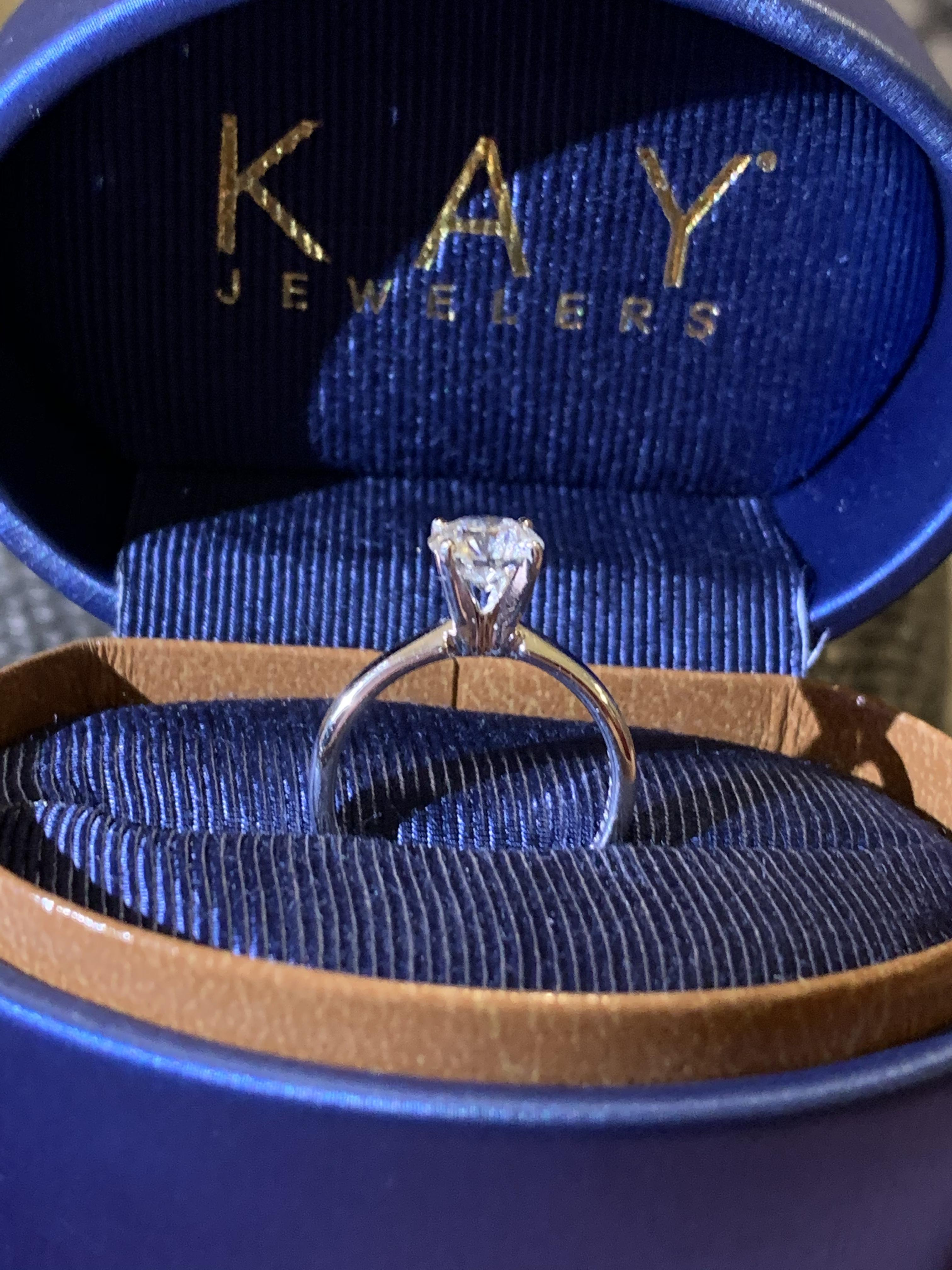 Leo Diamond Engagement Ring