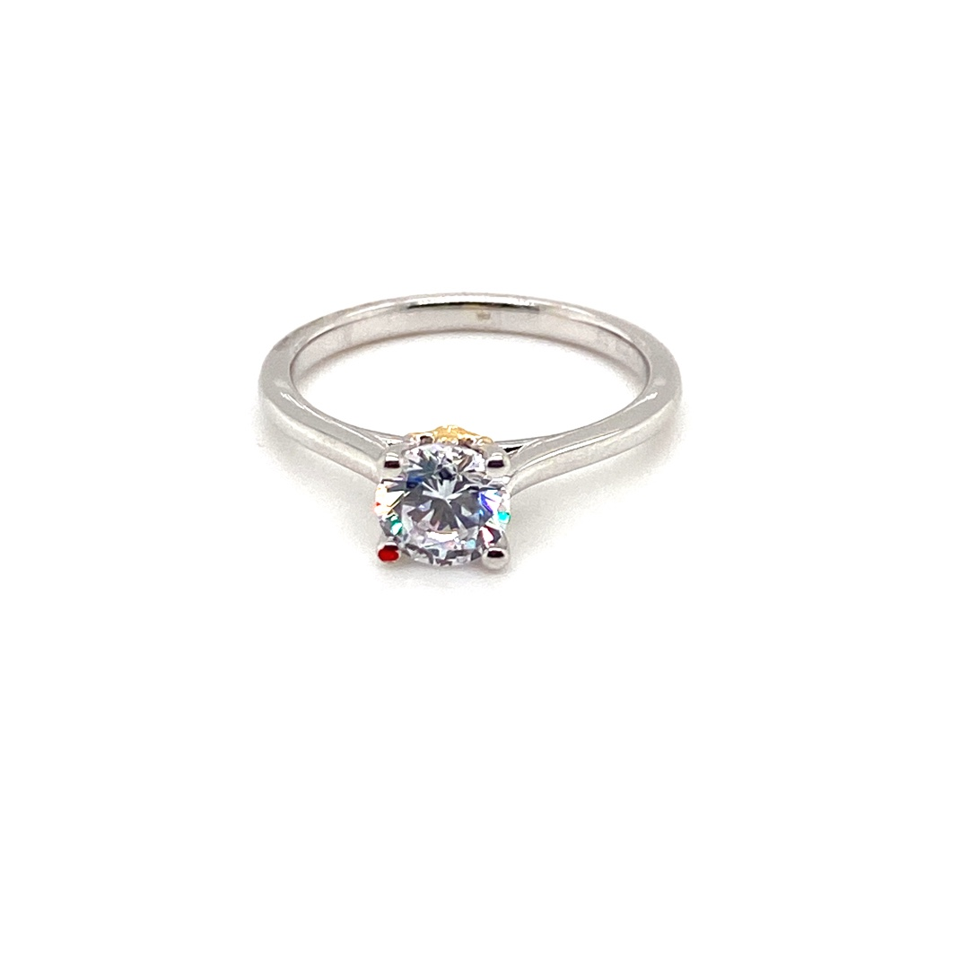 1ct Diamond Engagement Ring
