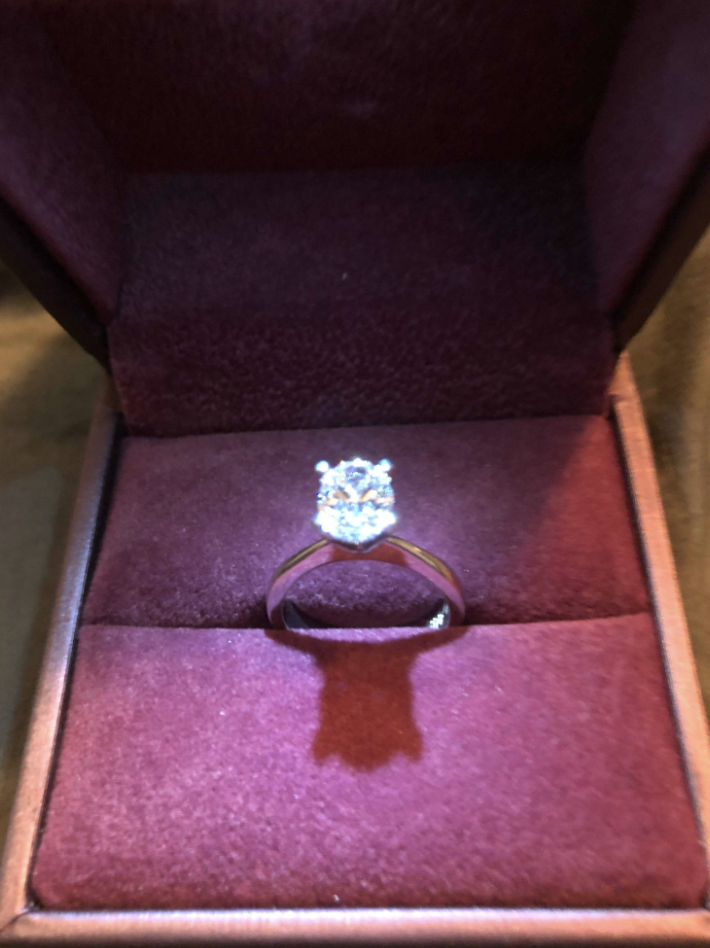 Solitaire Beauty 1.2 Oval