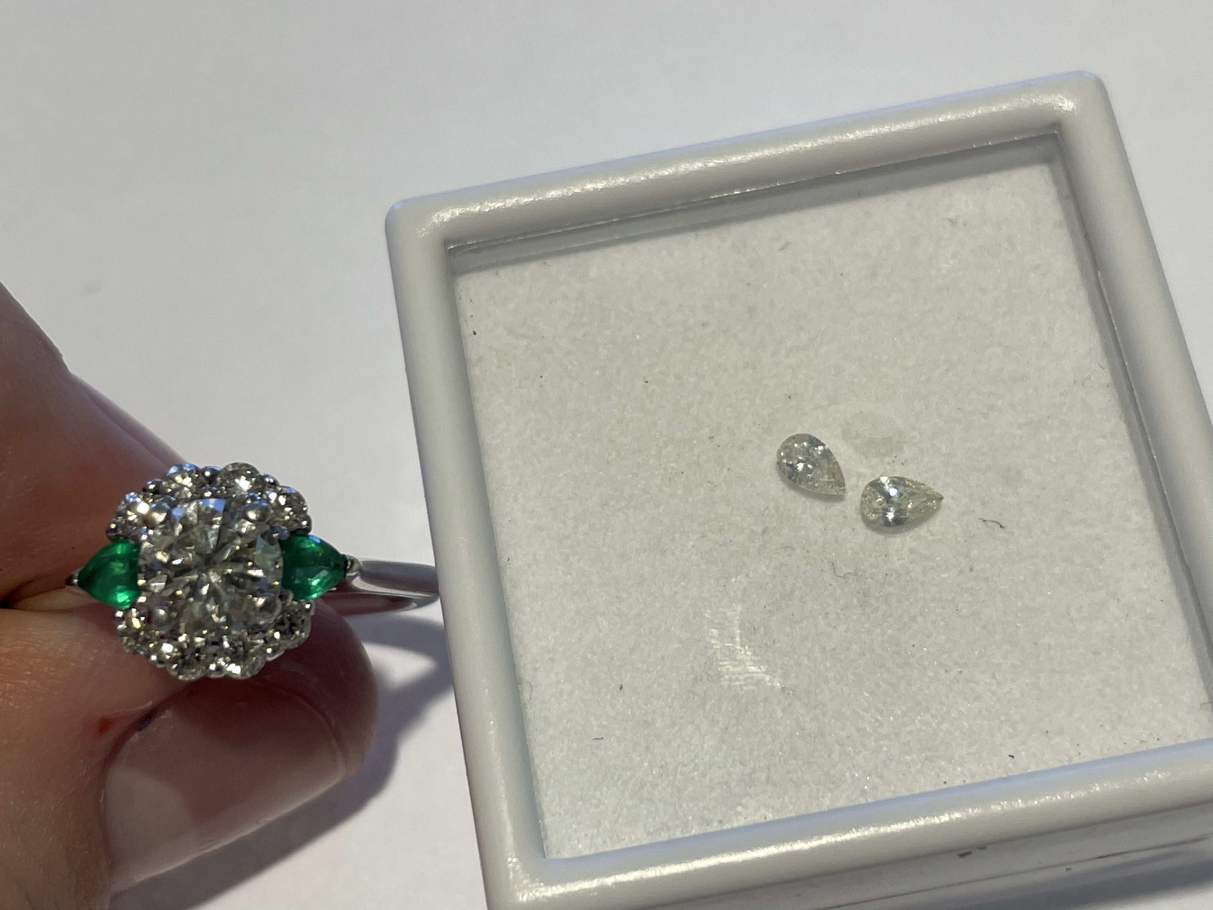 Custom Engagement ring with