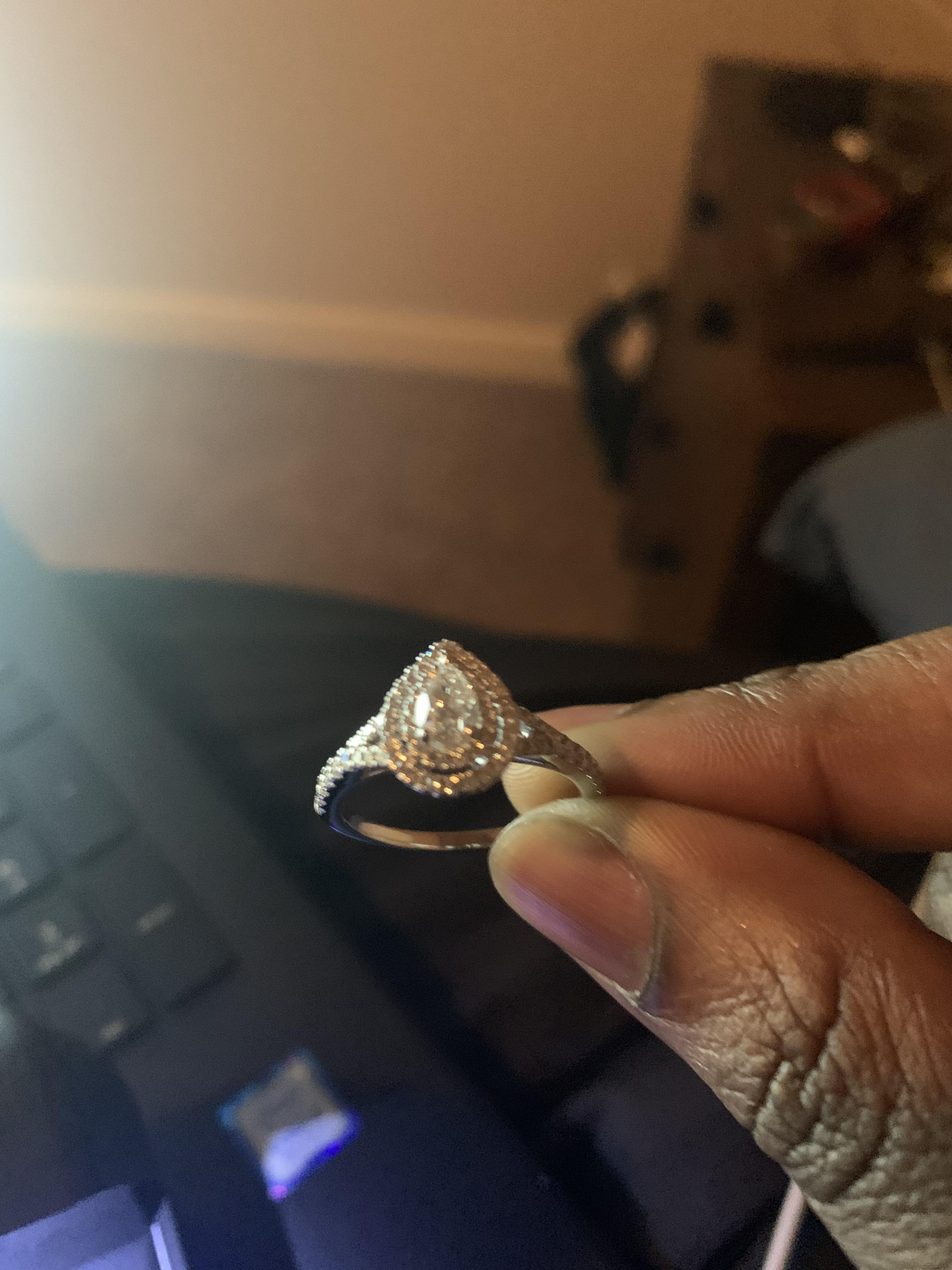 Robbins Brother 14k Engagement