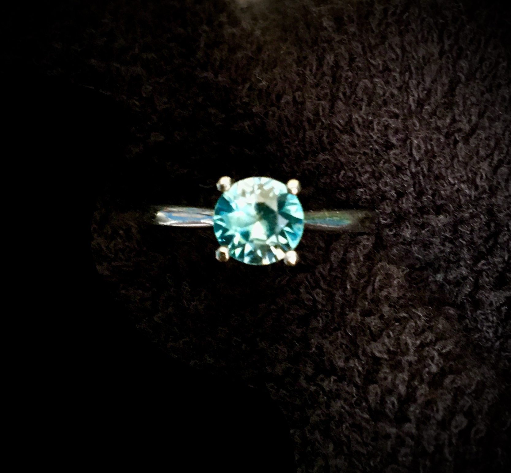 Beautiful, One-Of-A-Kind Blue Zircon
