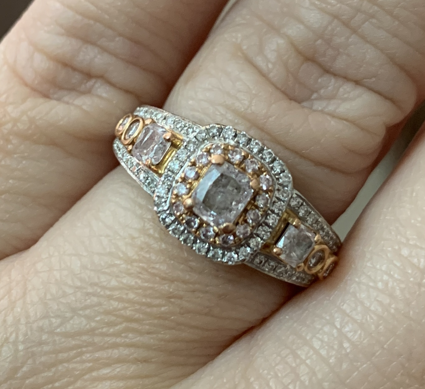 Natural Pink Diamond in
