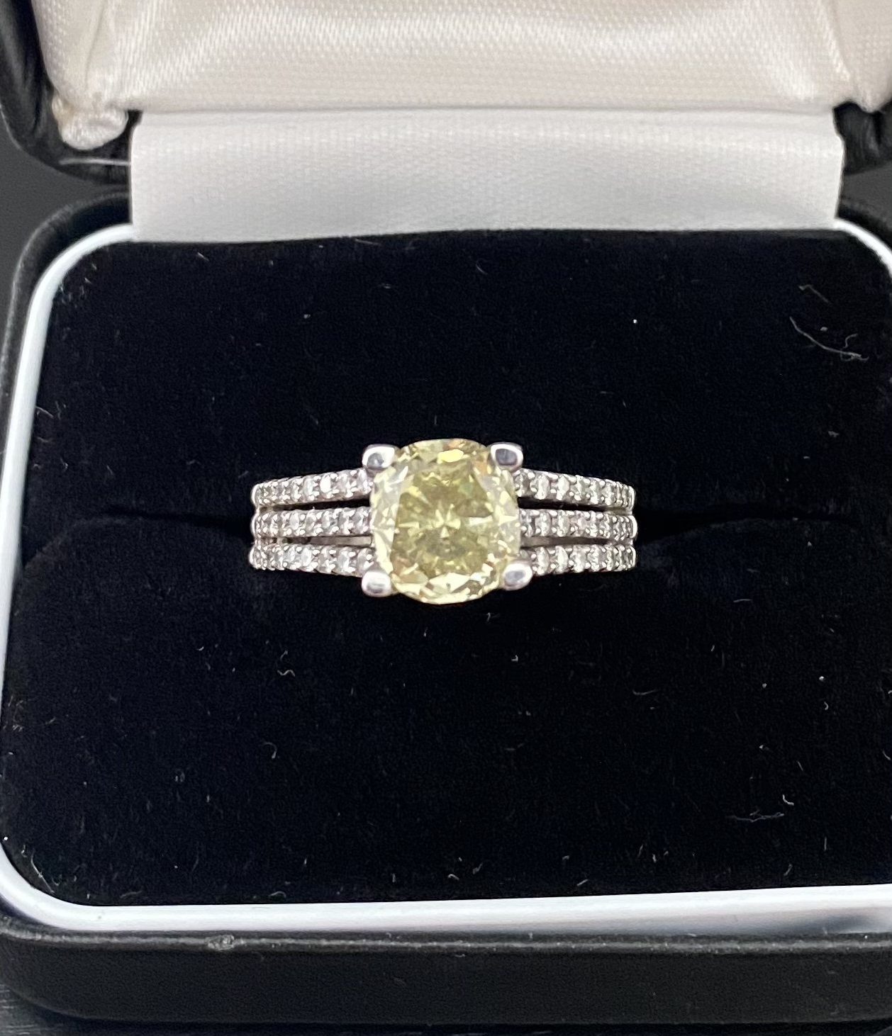 2.46 Ct Cushion Cut