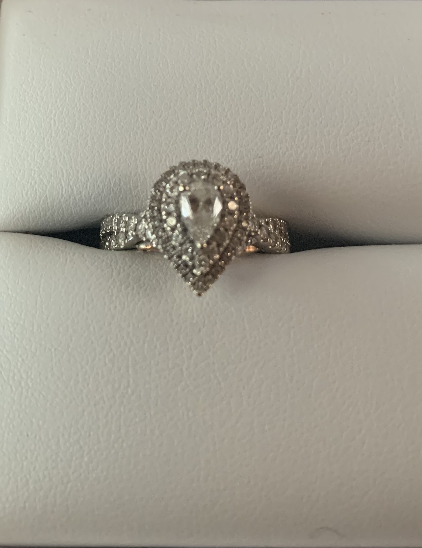 Engagement Ring with Bridal