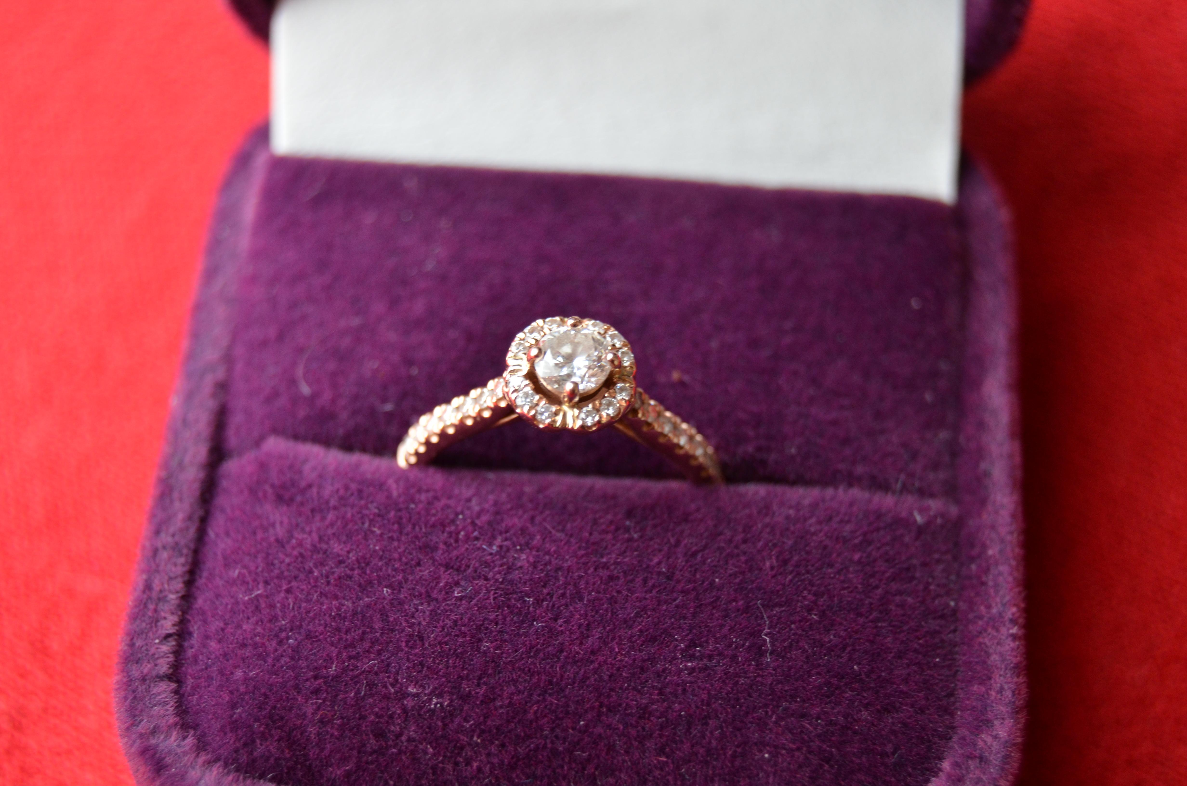 Engagement ring size 5.5